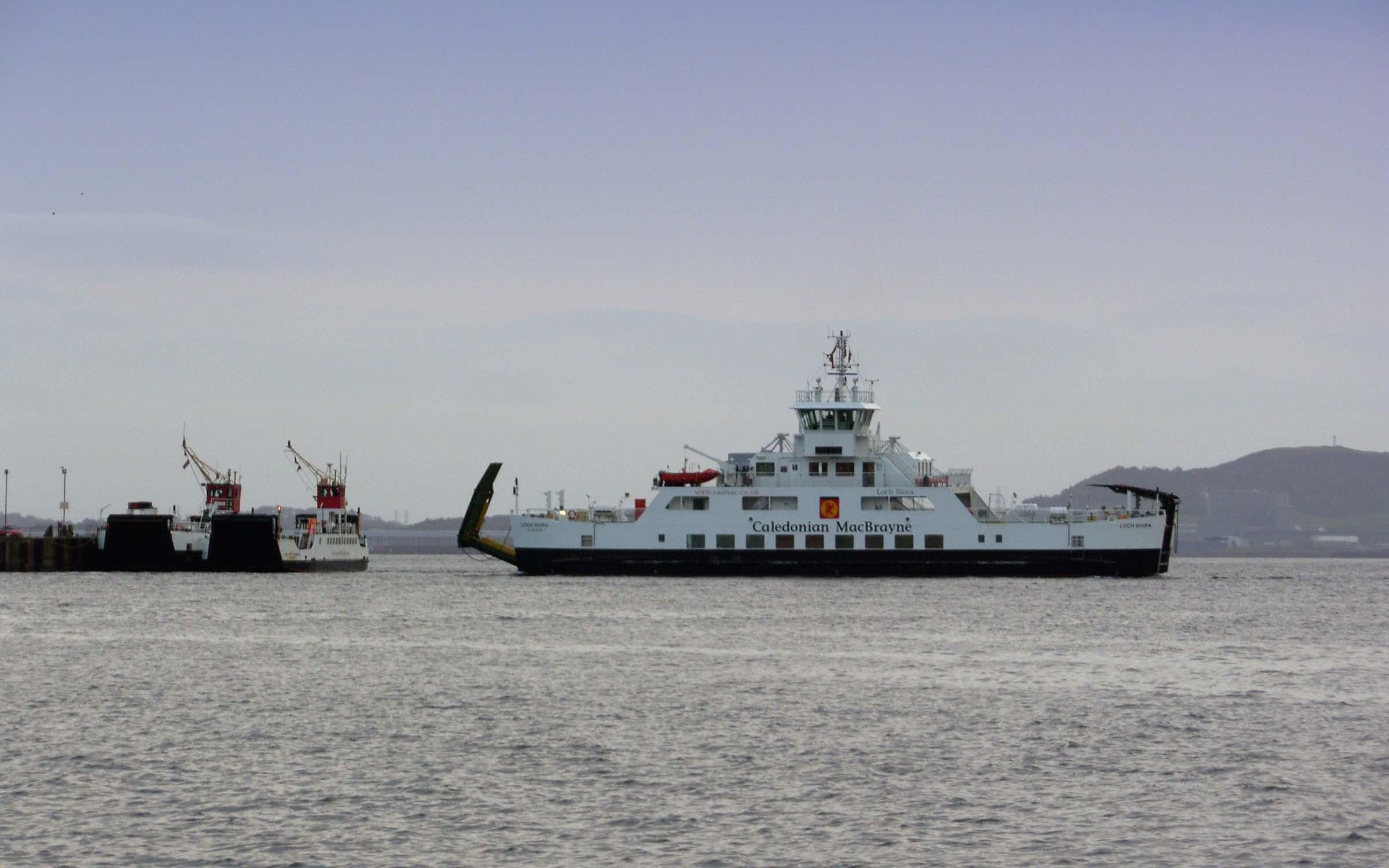 Three generations of Cumbrae ferries: Loch Linnhe, Isle of Cumbrae and Loch Shira (Ships of CalMac)