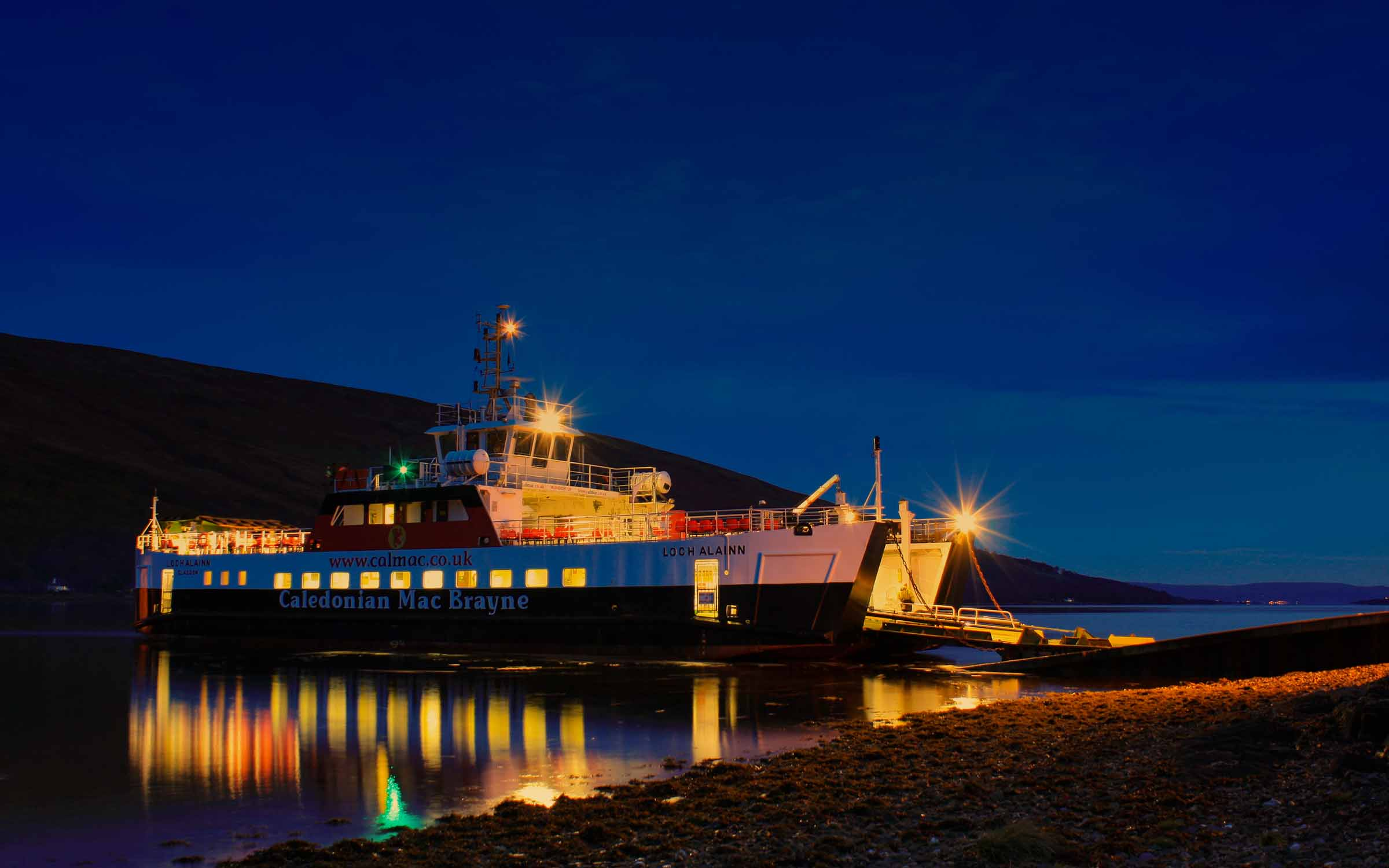 Loch Alainn at Rhubodach (Ships of CalMac)