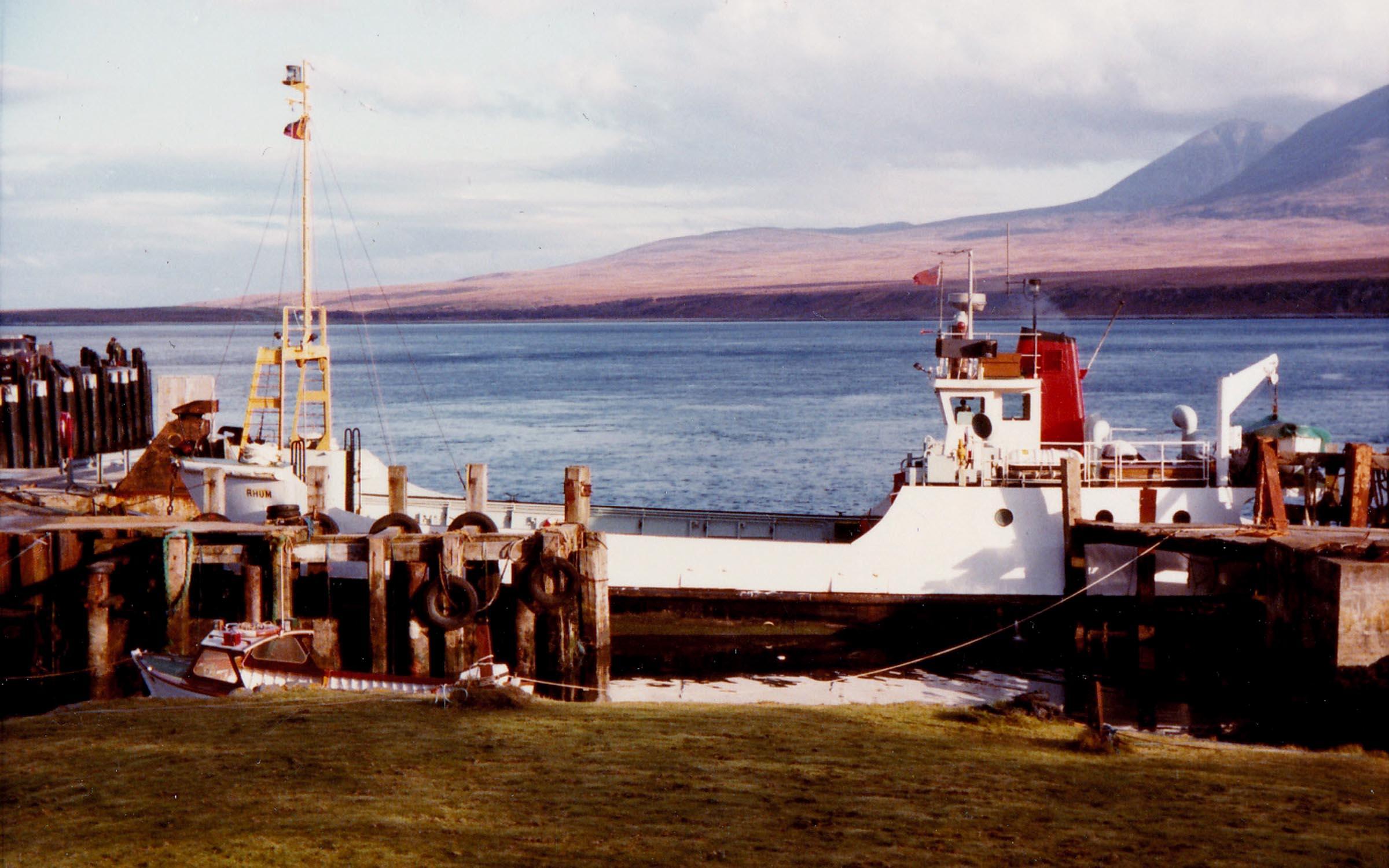 Rhum at Port Askaig (Jim Aikman Smith)