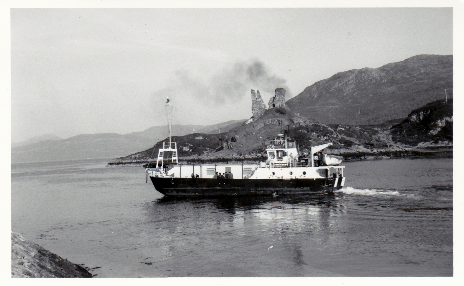Coll at Kyleakin (Jim Aikman Smith)