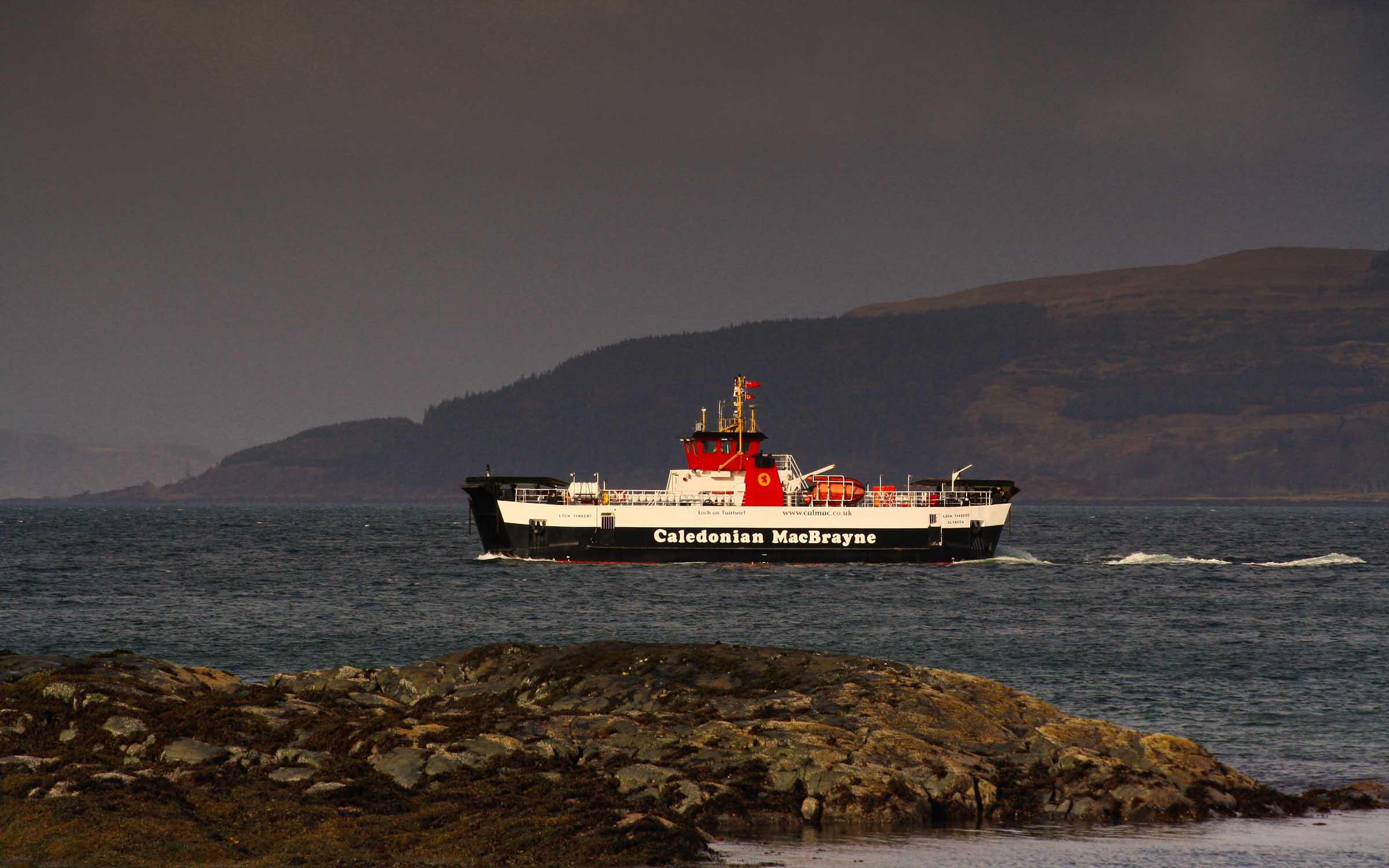 Loch Tarbert crossing to Fishnish (Ships of CalMac)
