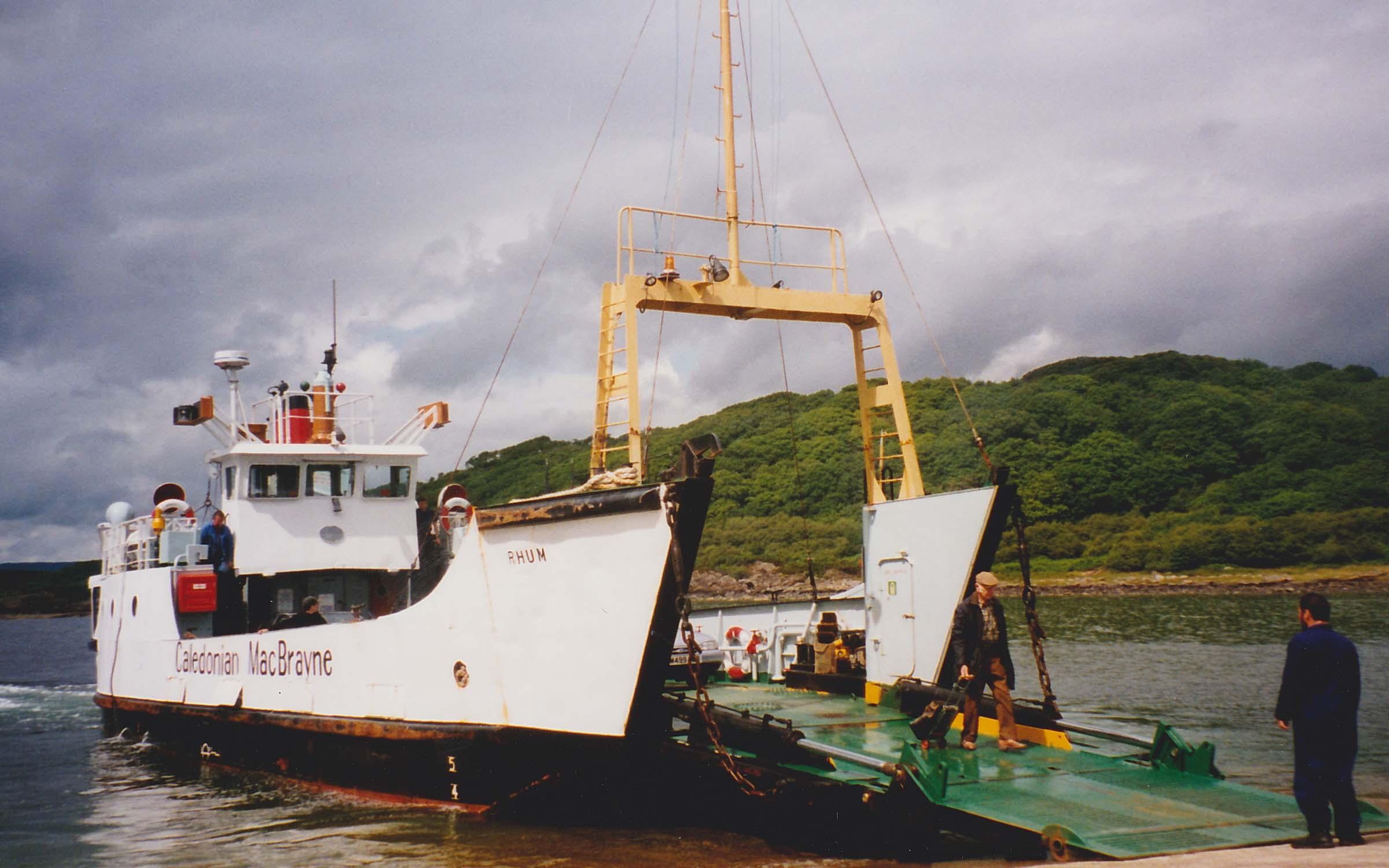 Rhum at Portavadie (Ships of CalMac)