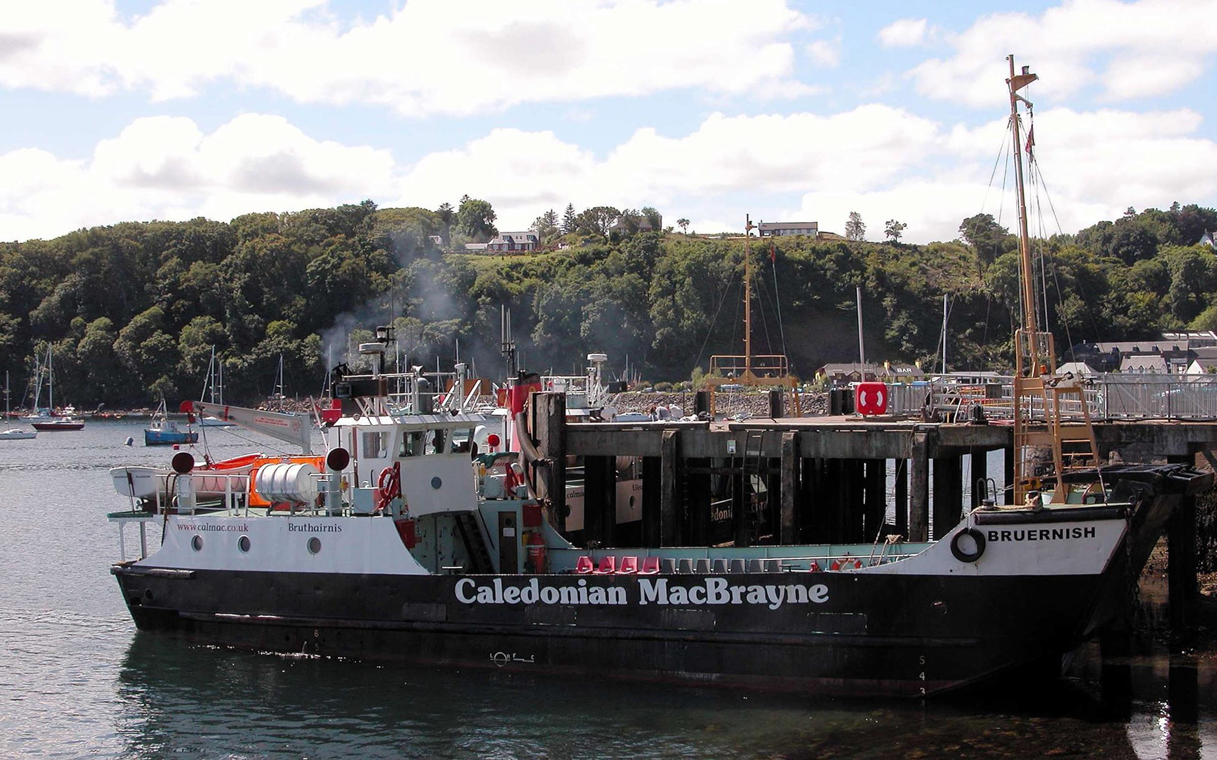 Bruernish and Raasay at Tobermory (Iain McPherson)