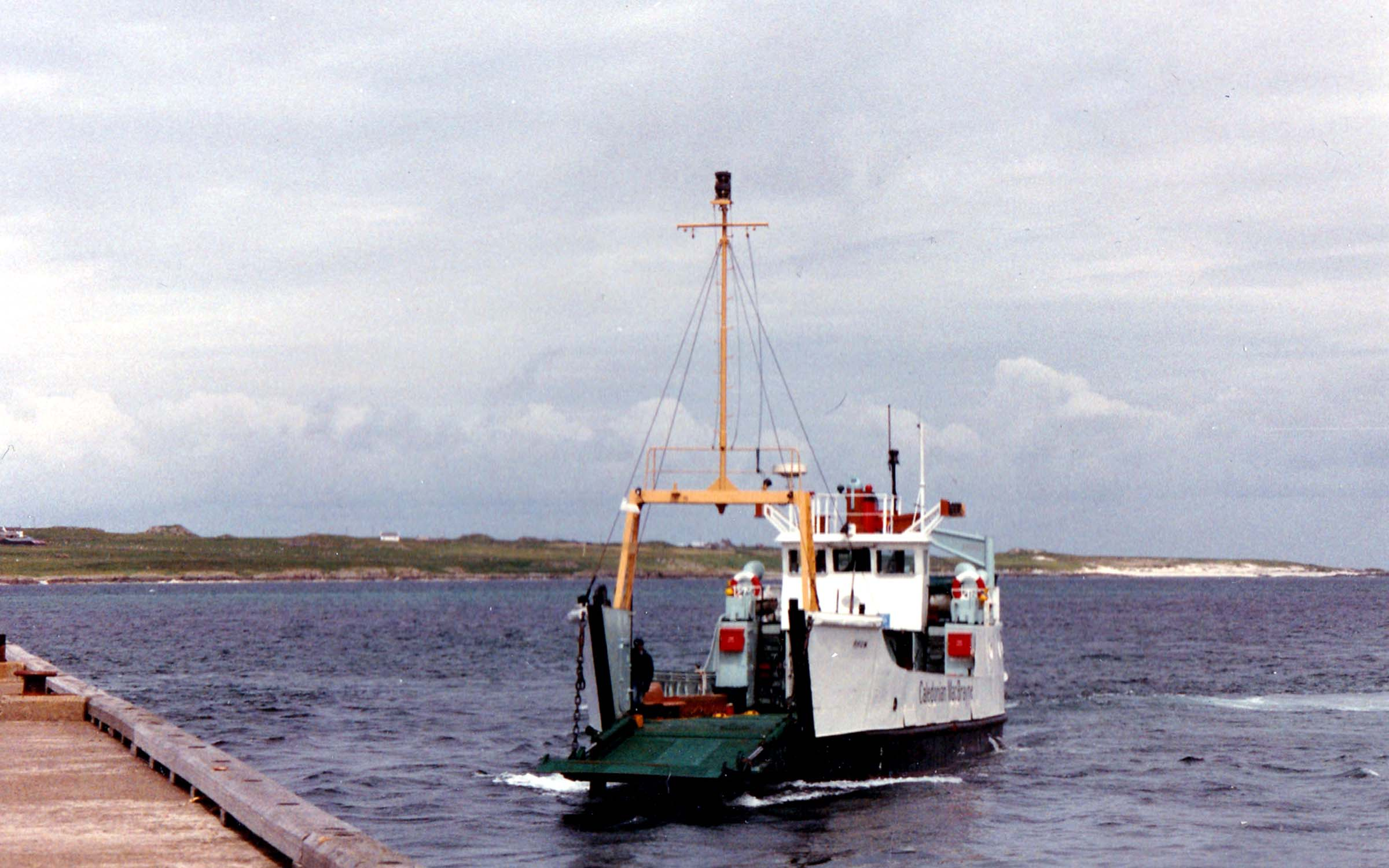 Rhum arriving at Fionnphort (Jim Aikman Smith)