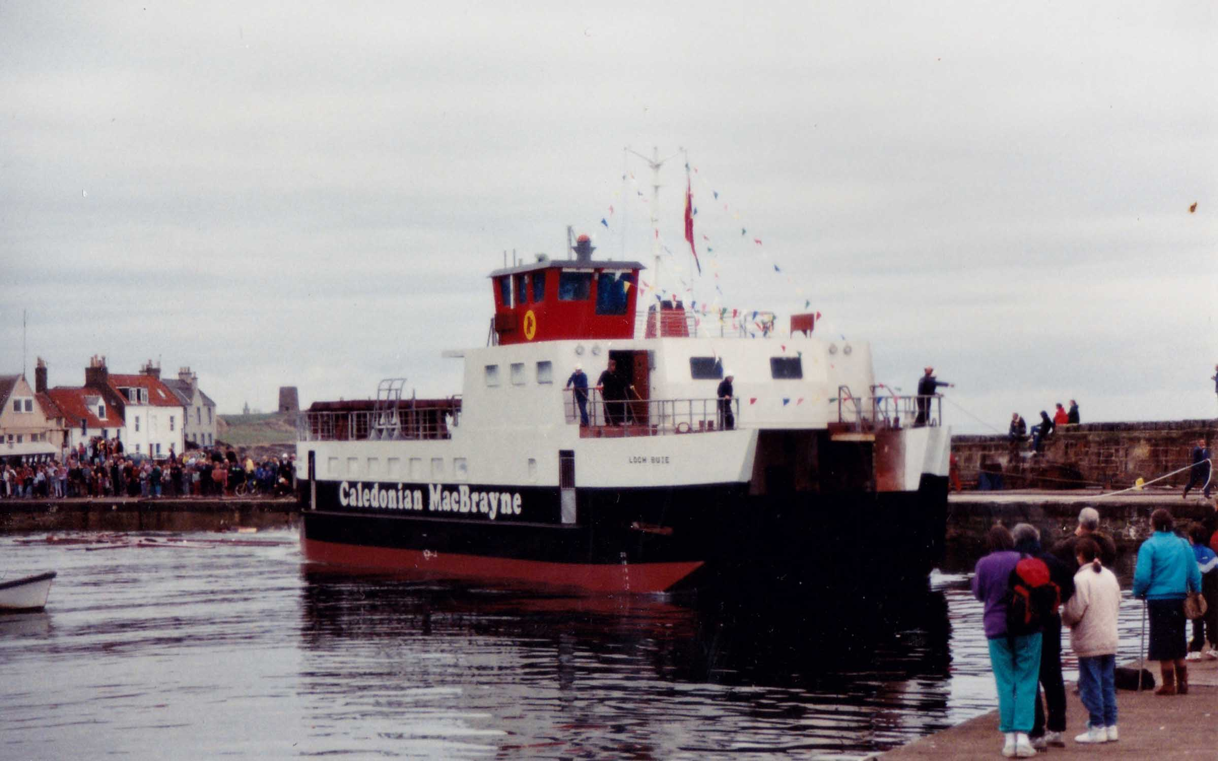 Loch Buie after being launched at St Monans (Jim Aikman Smith)