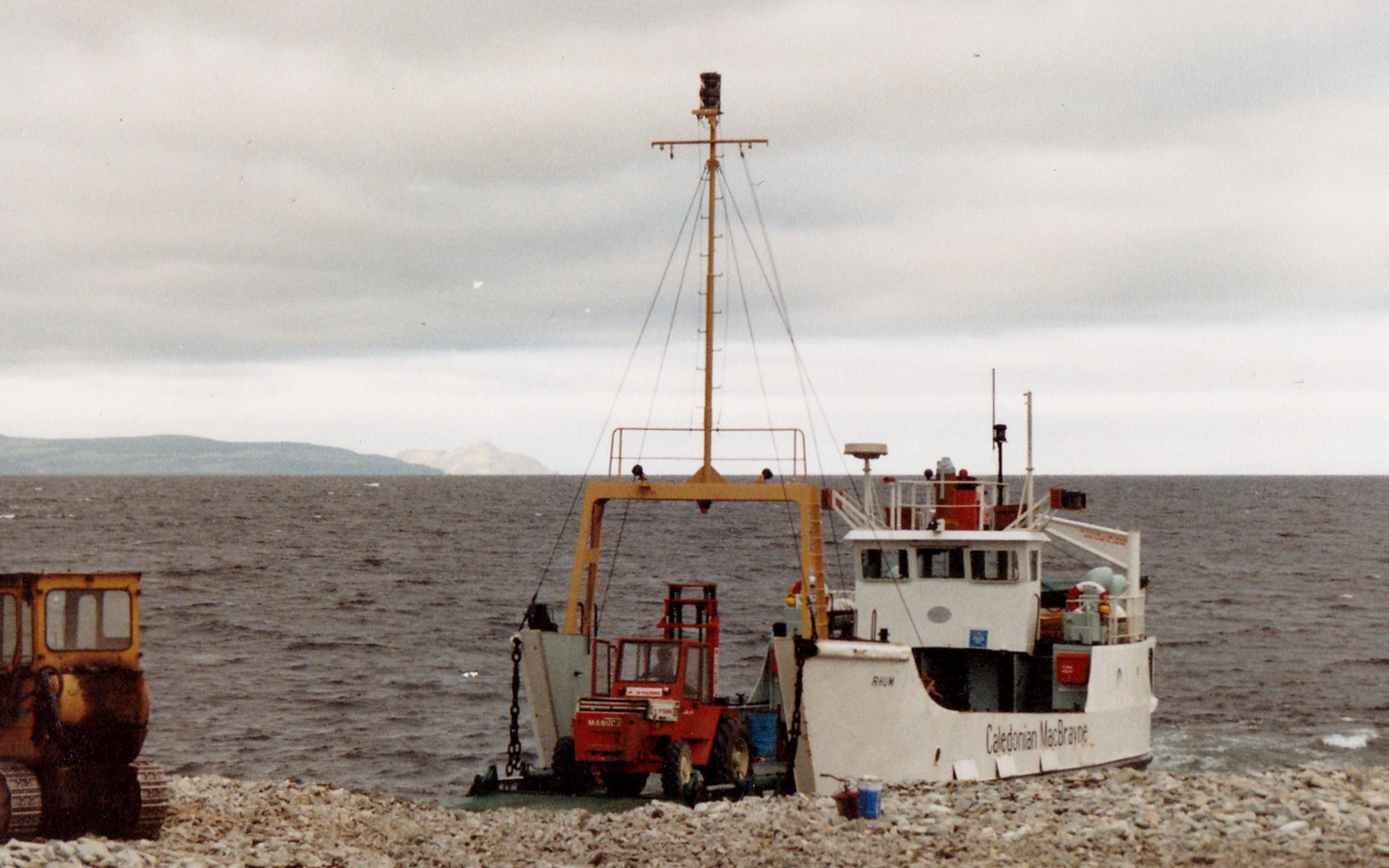 Rhum on charter at Ailsa Craig (Jim Aikman Smith)