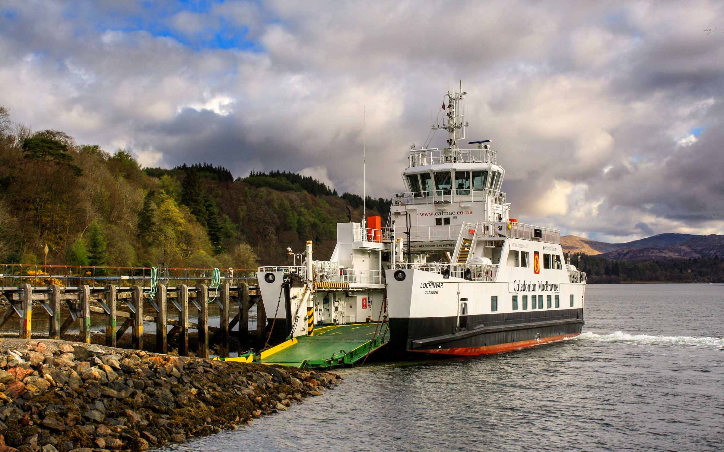 Lochinvar at Lochaline (Ships of CalMac)