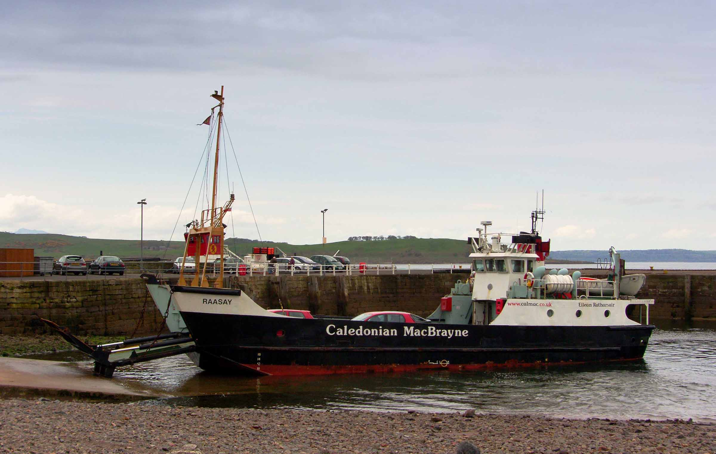 Raasay at Largs (Ships of CalMac)