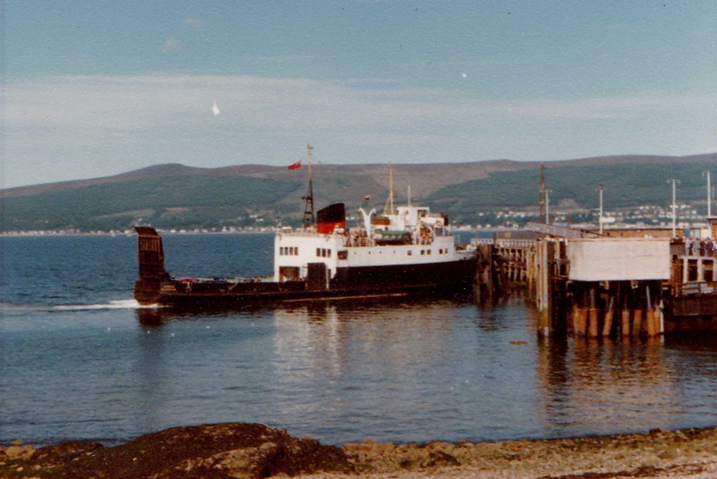 Arran arriving at Wemyss Bay (Jim Aikman Smith)