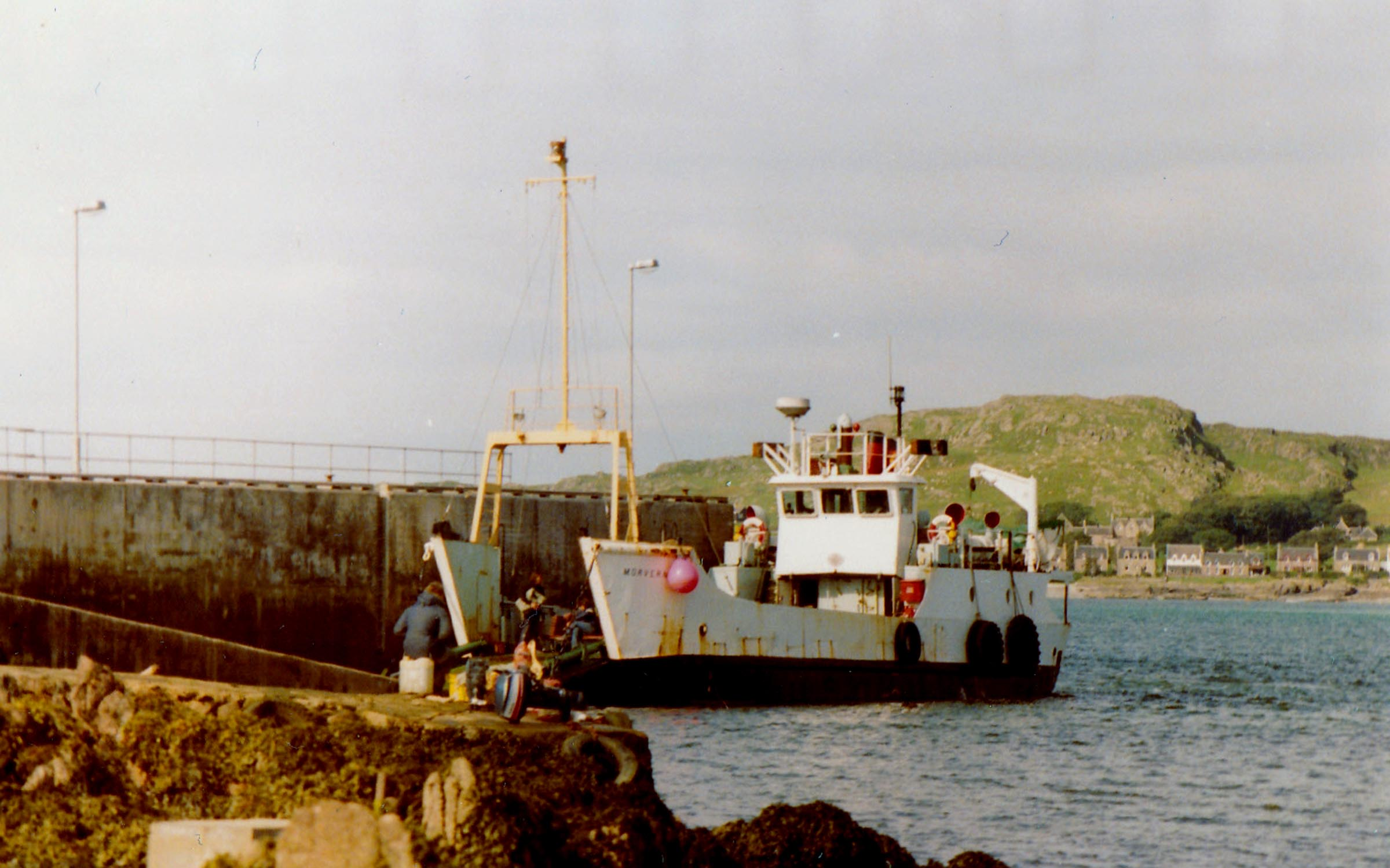 Morvern at Fionnphort slipway (Jim Aikman Smith)