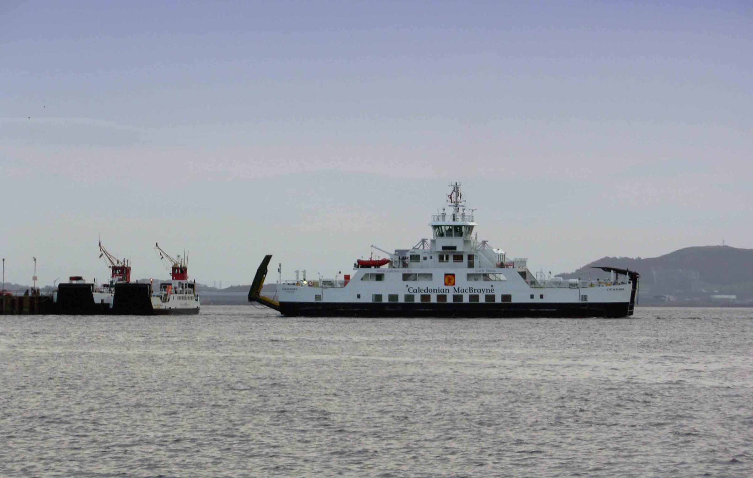 3 Generations of Cumbrae Ferry