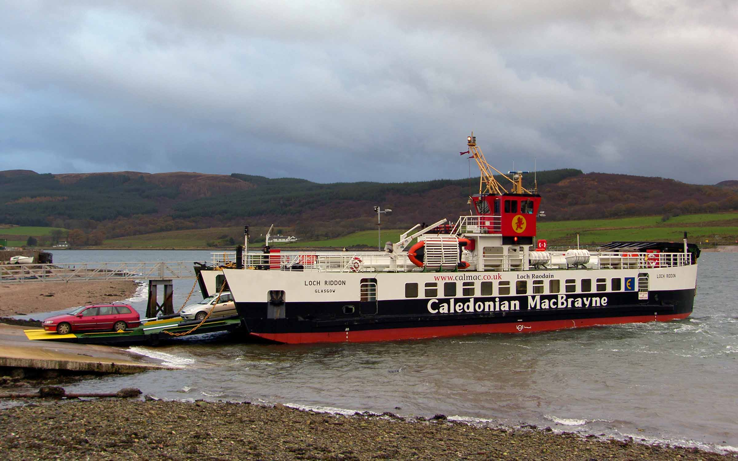 Loch Riddon at Colintraive (Ships of CalMac)