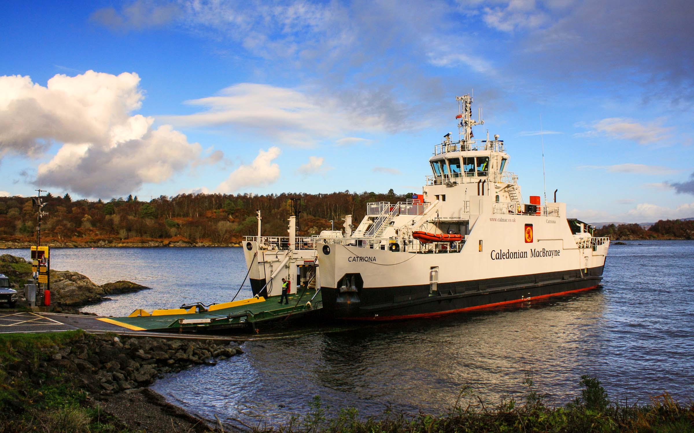 Lochinvar at Tarbert, Loch Fyne (Ships of CalMac)