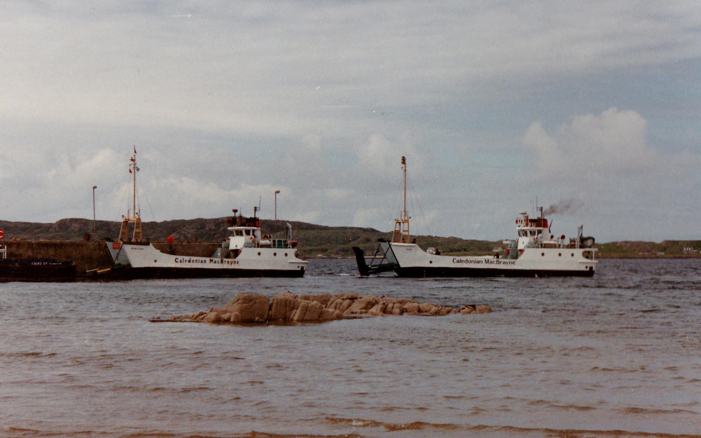 Rhum and Morvern at Fionnphort (Jim Aikman Smith)