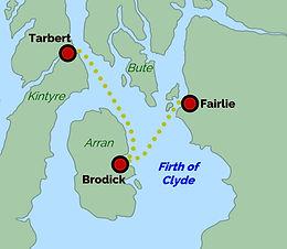 Fairlie - Brodick - Tarbert
