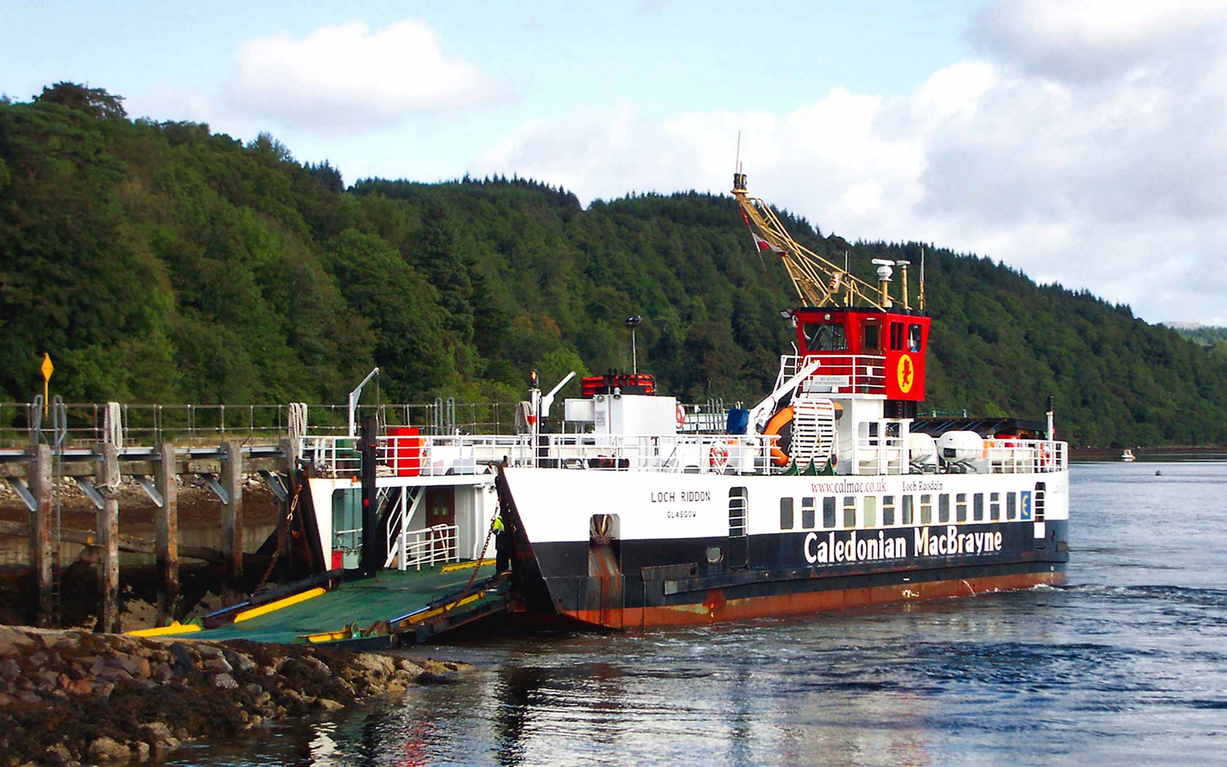 Loch Riddon at Lochaline (Ships of CalMac)