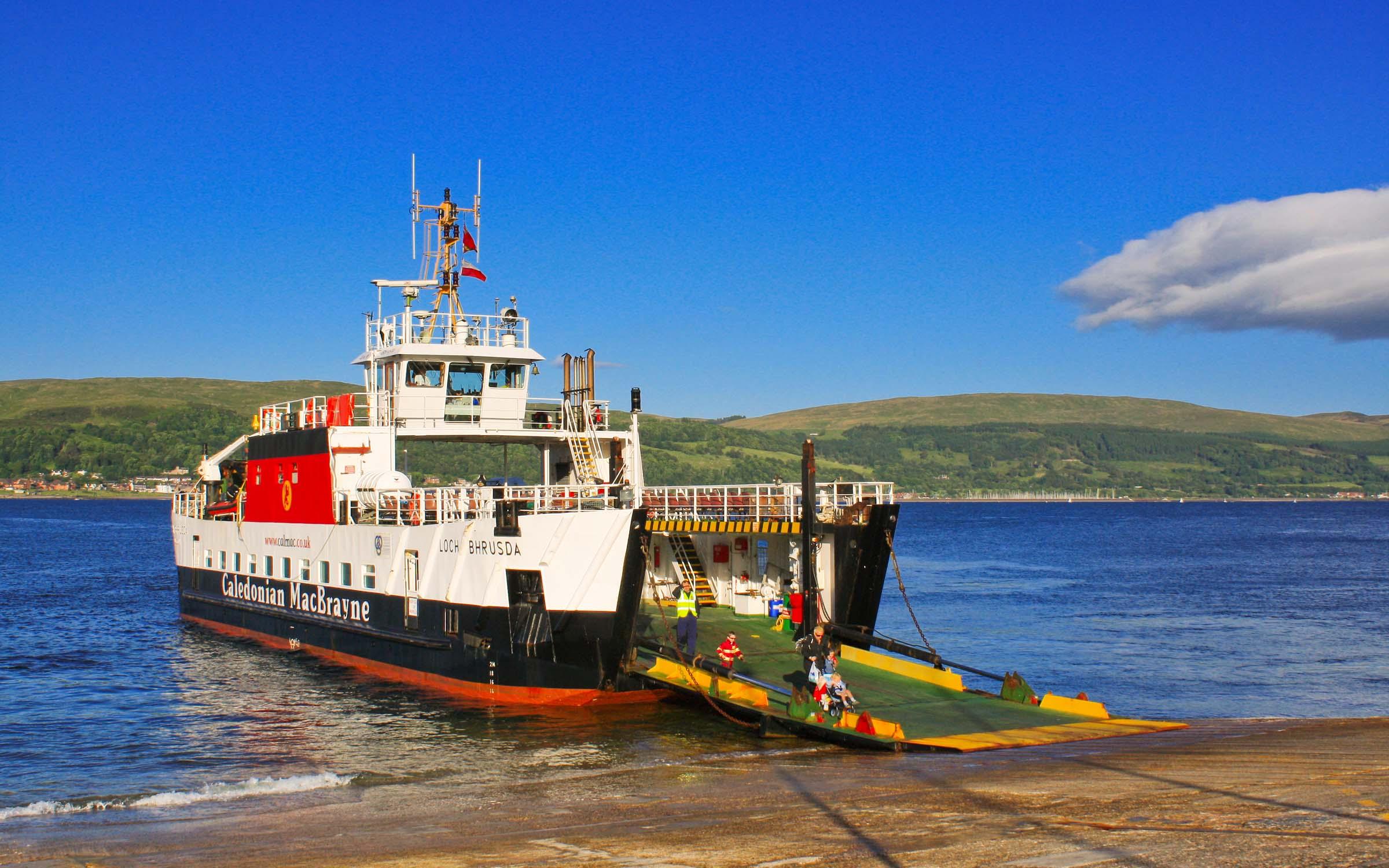 Loch Bhrusda at Cumbrae (Ships of CalMac)