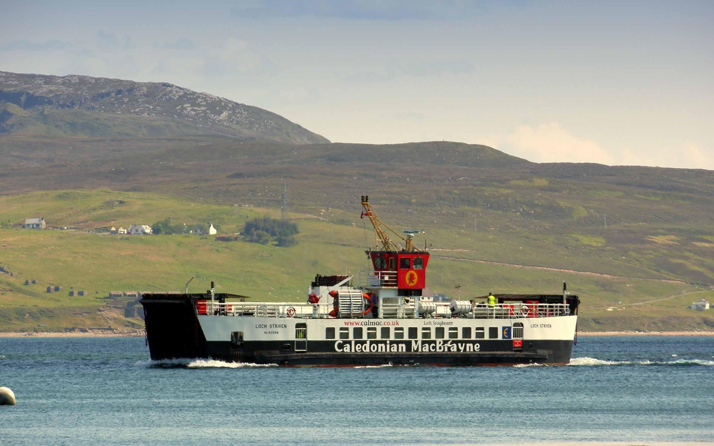 Loch Striven entering Loch Sligachan (Ships of CalMac)