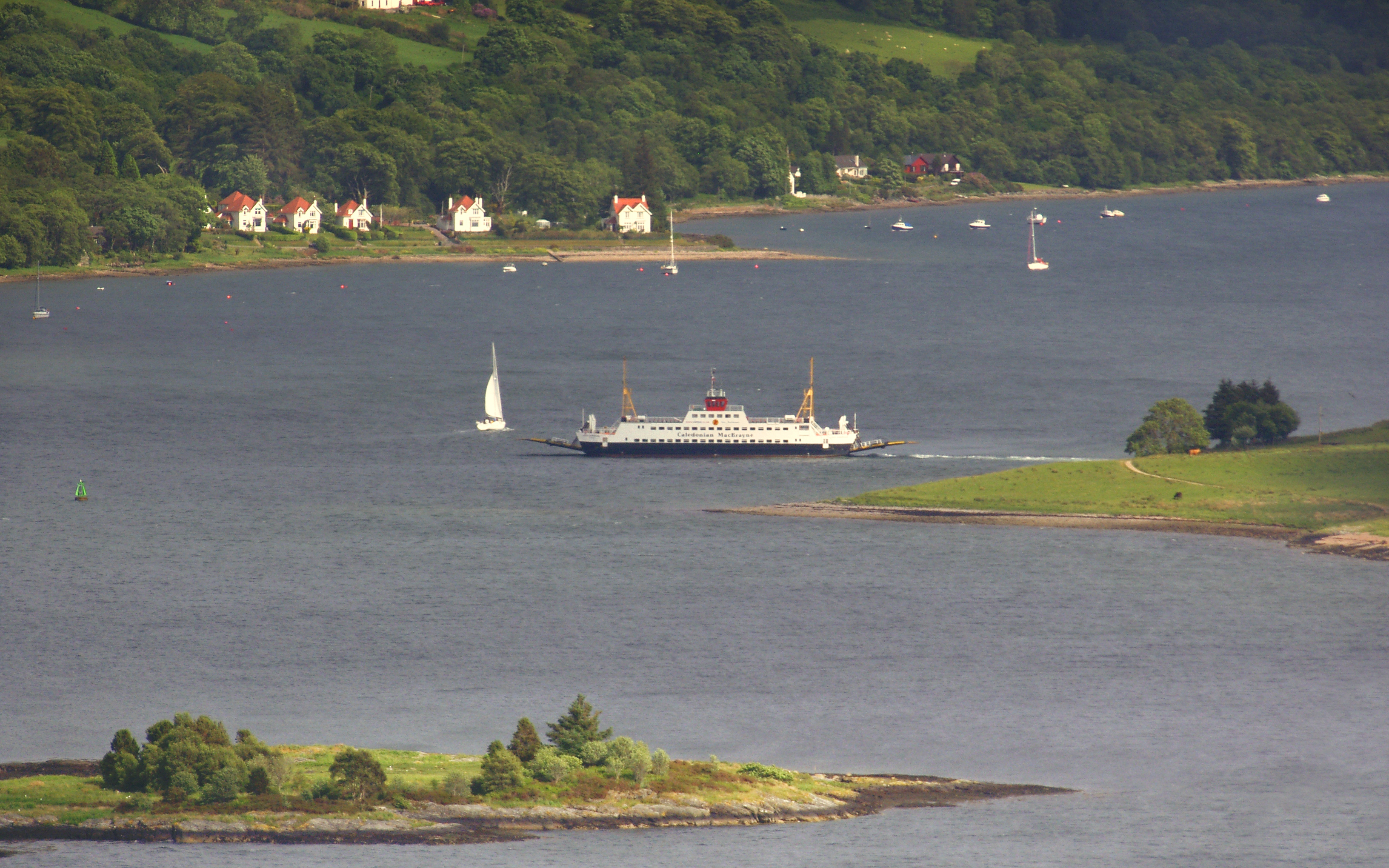 Loch Dunvegan in the Kyles of Bute (Ships of CalMac)