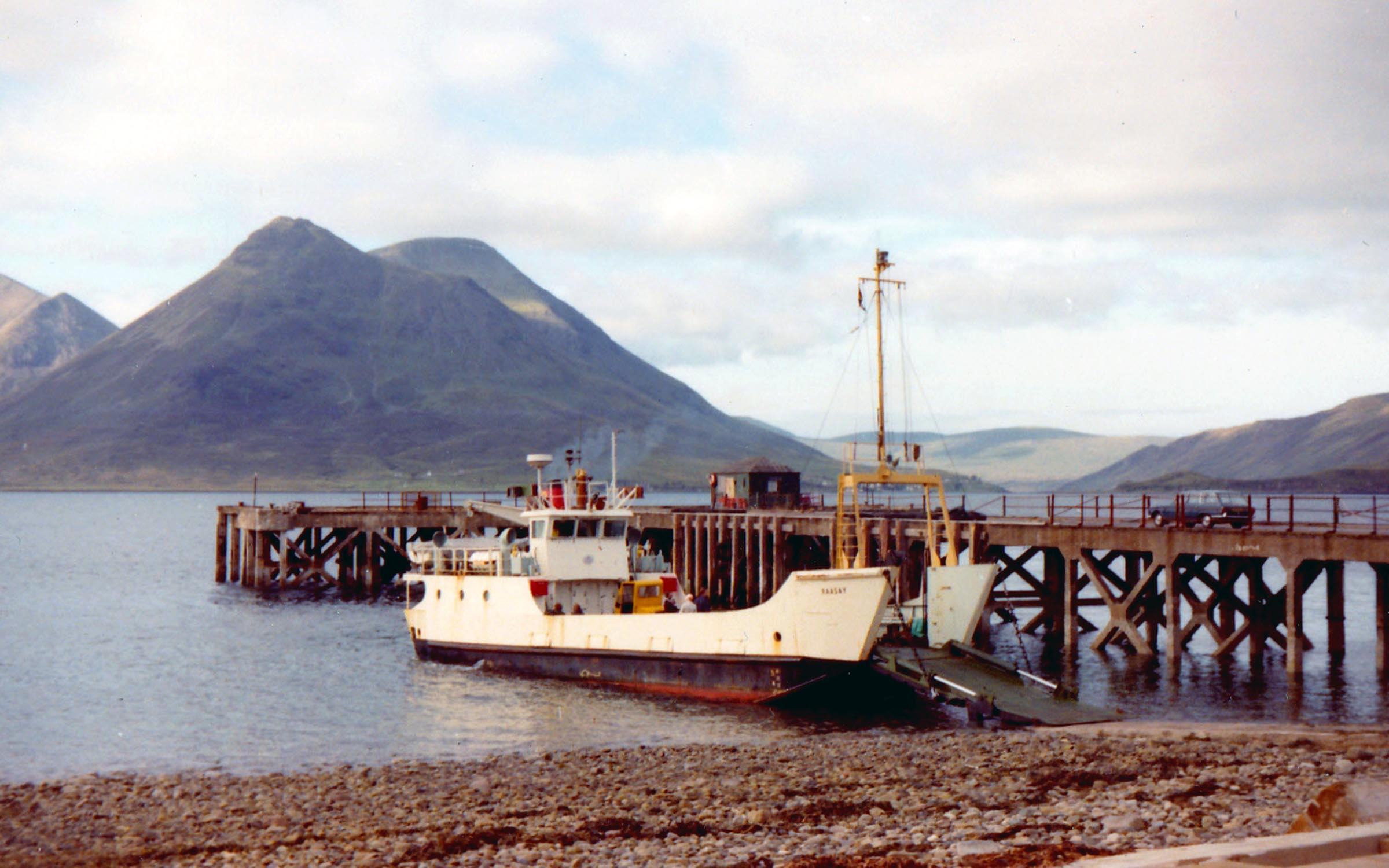 Raasay at Raasay (Jim Aikman Smith)