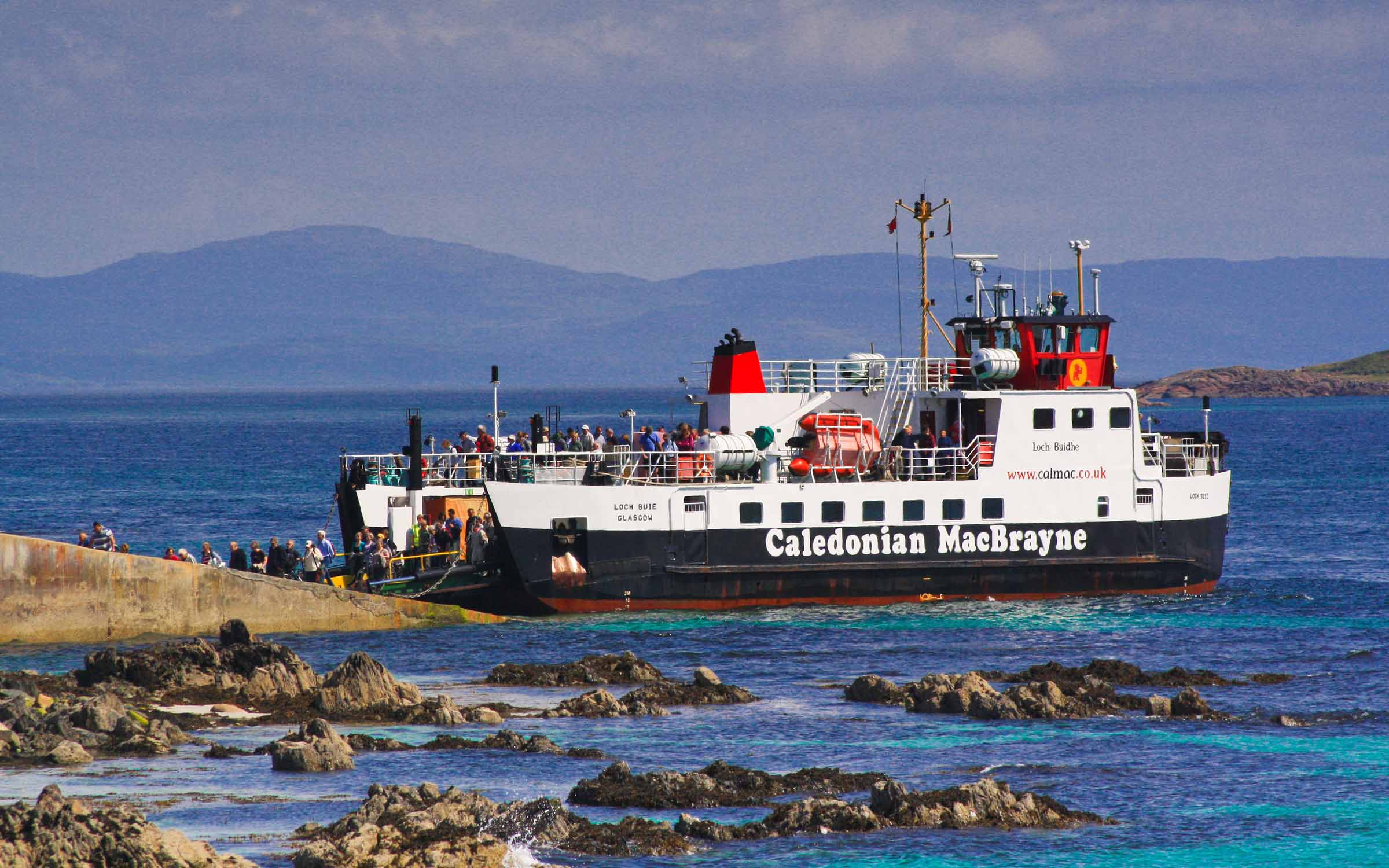 Loch Buie at Iona slip (Ships of CalMac)