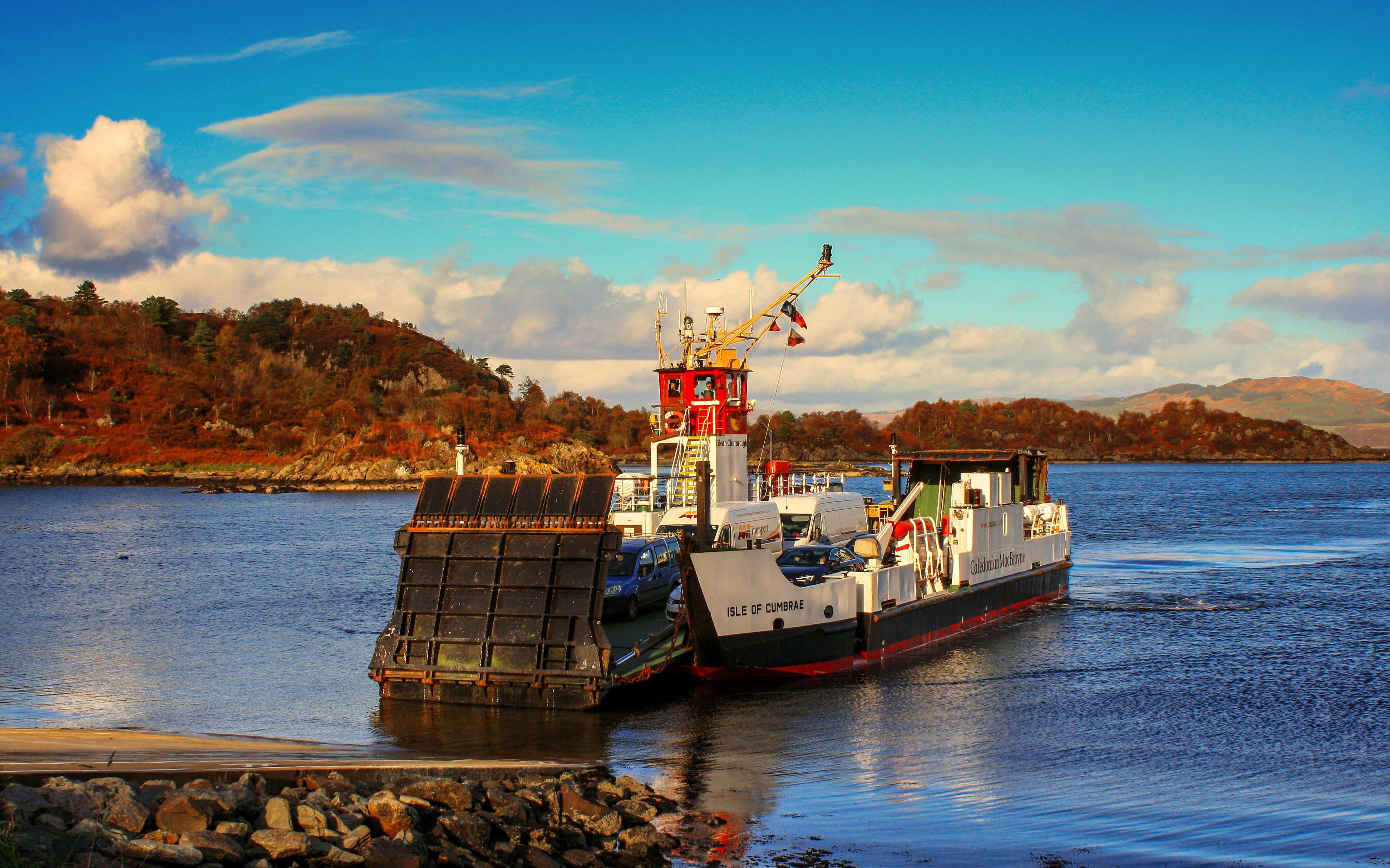 Isle of Cumbrae arriving at Tarbert