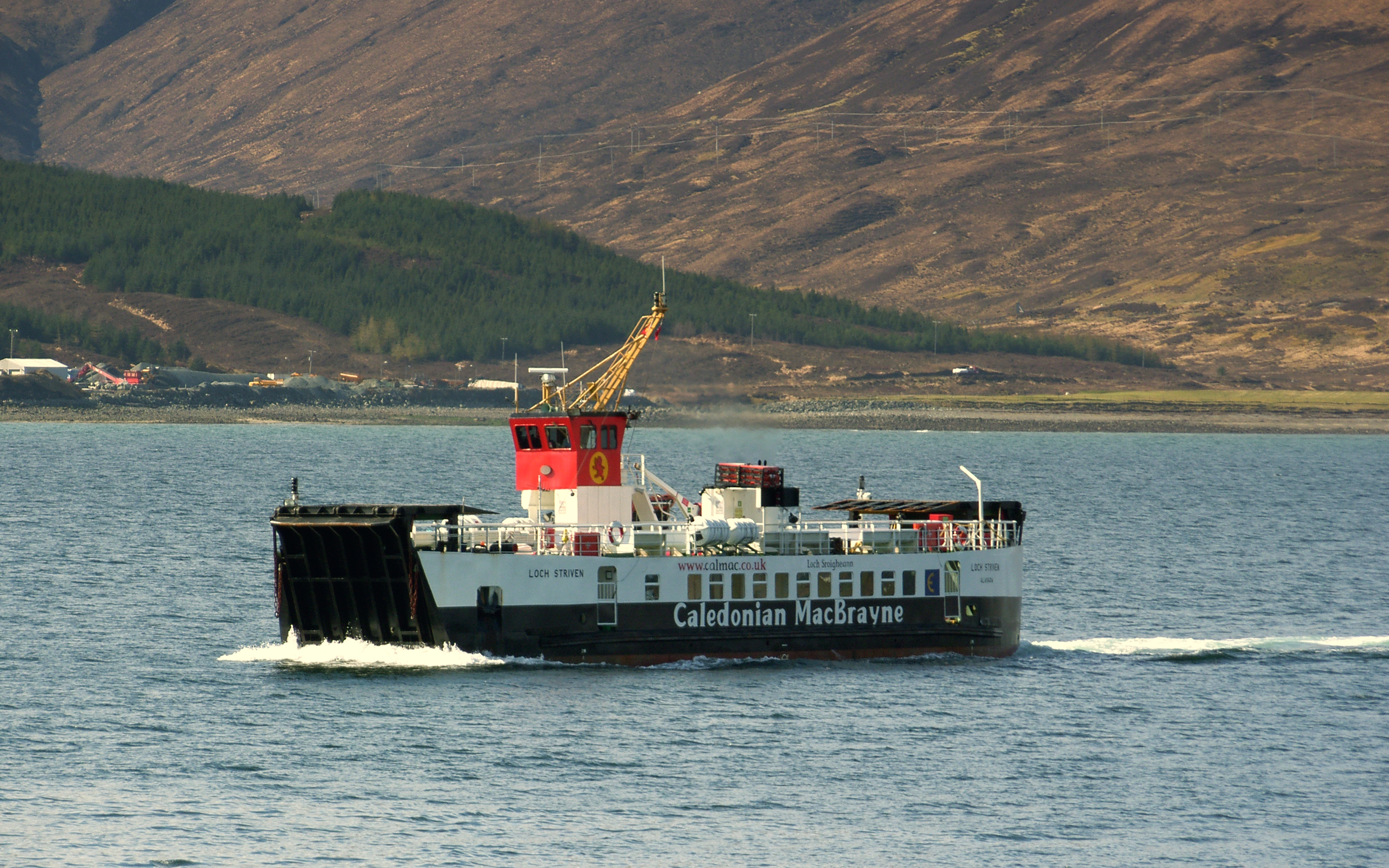 Loch Striven crossing from Sconser to Raasay (Ships of CalMac)