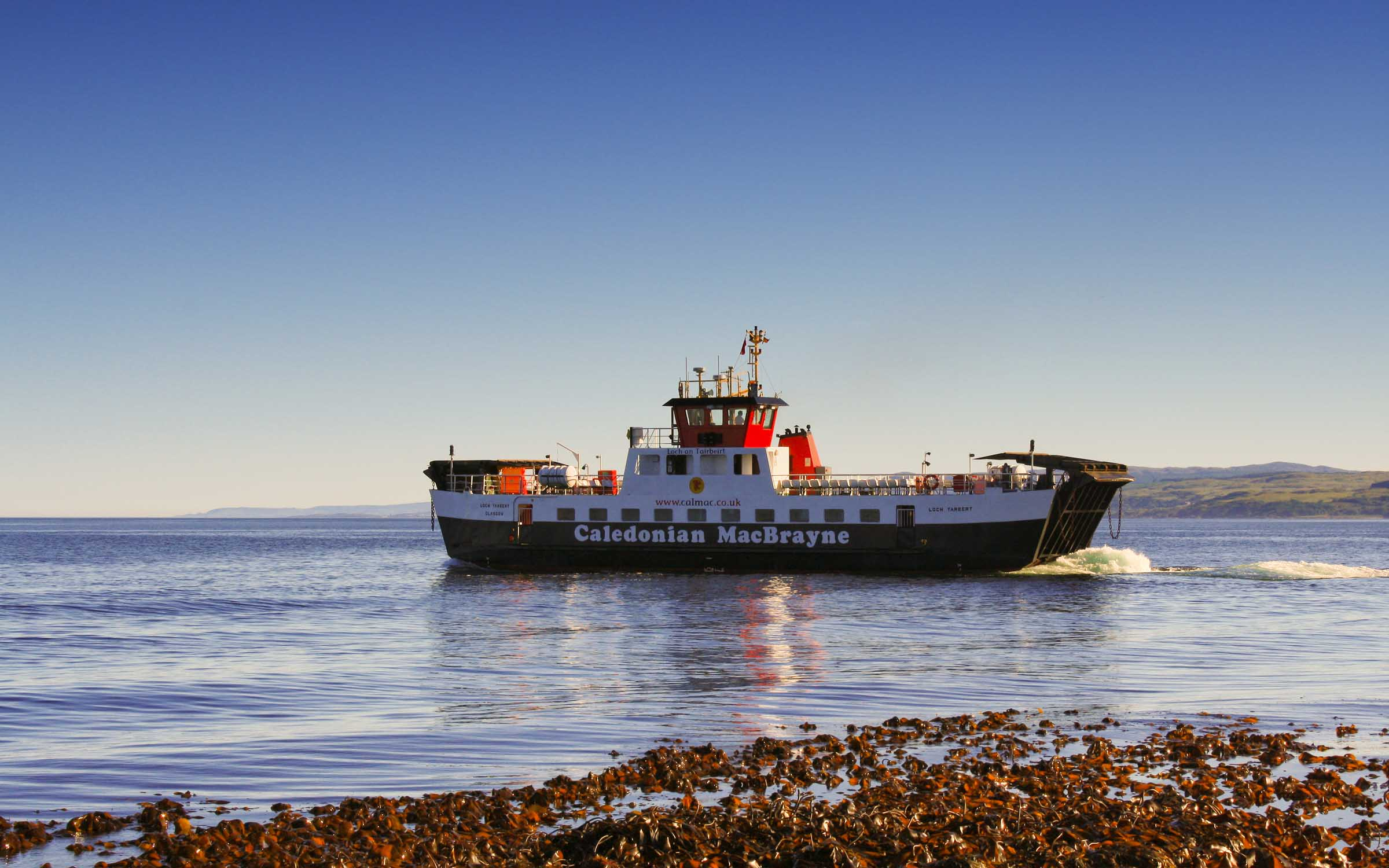 Loch Tarbert leaaving Claonaig (Ships of CalMac)