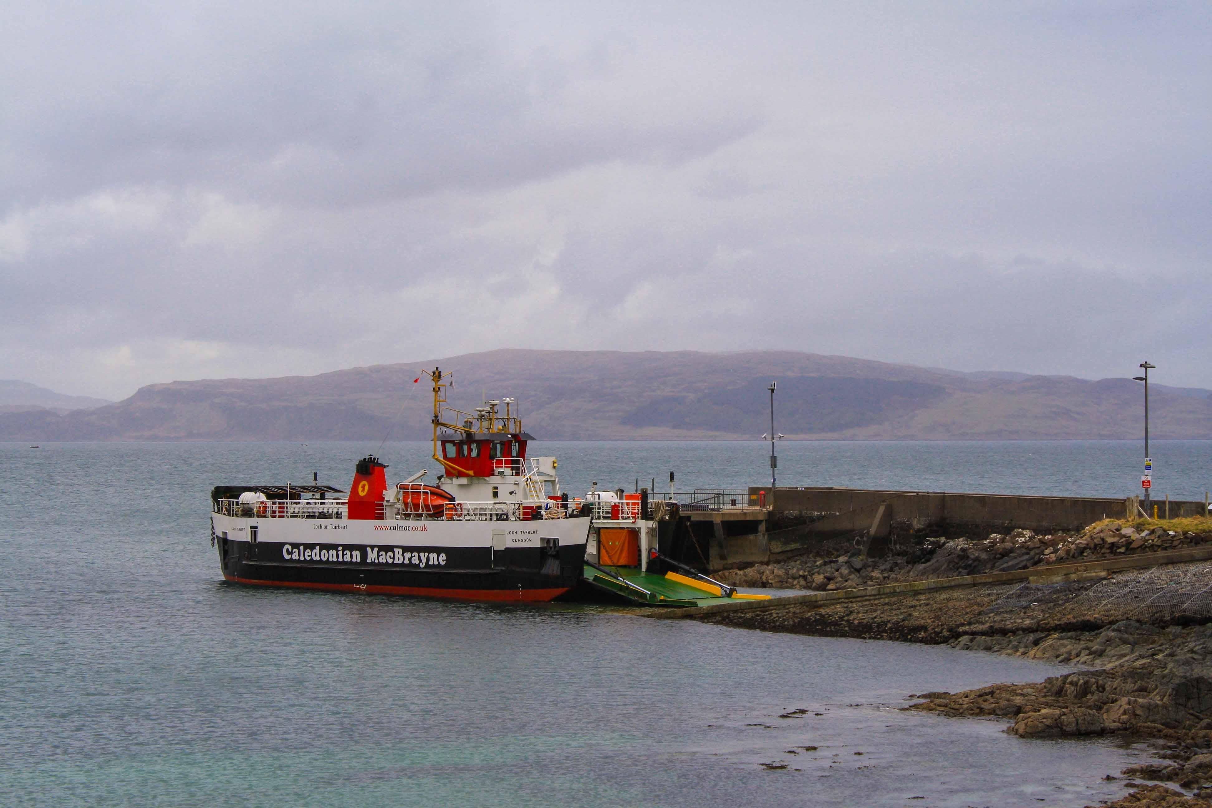 Loch Tarbert at Kilchoan (Ships of CalMac)