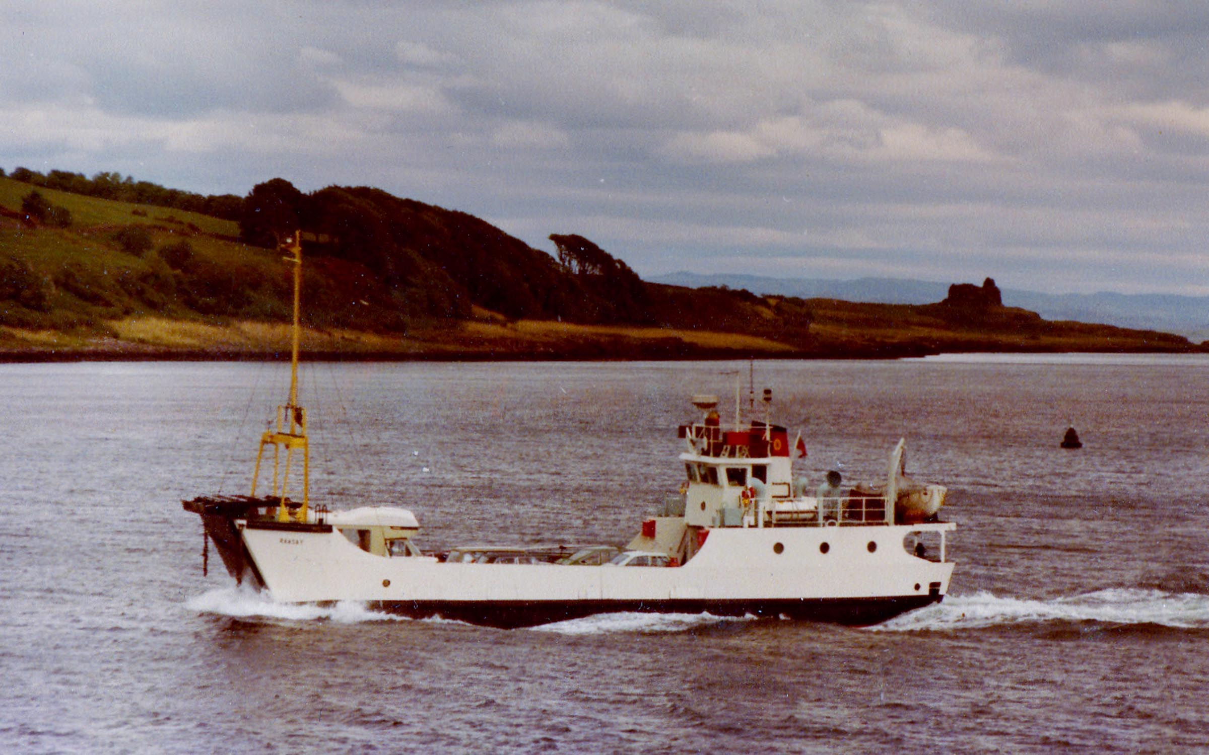 Raasay approaching Lochaline (Jim Aikman Smith)