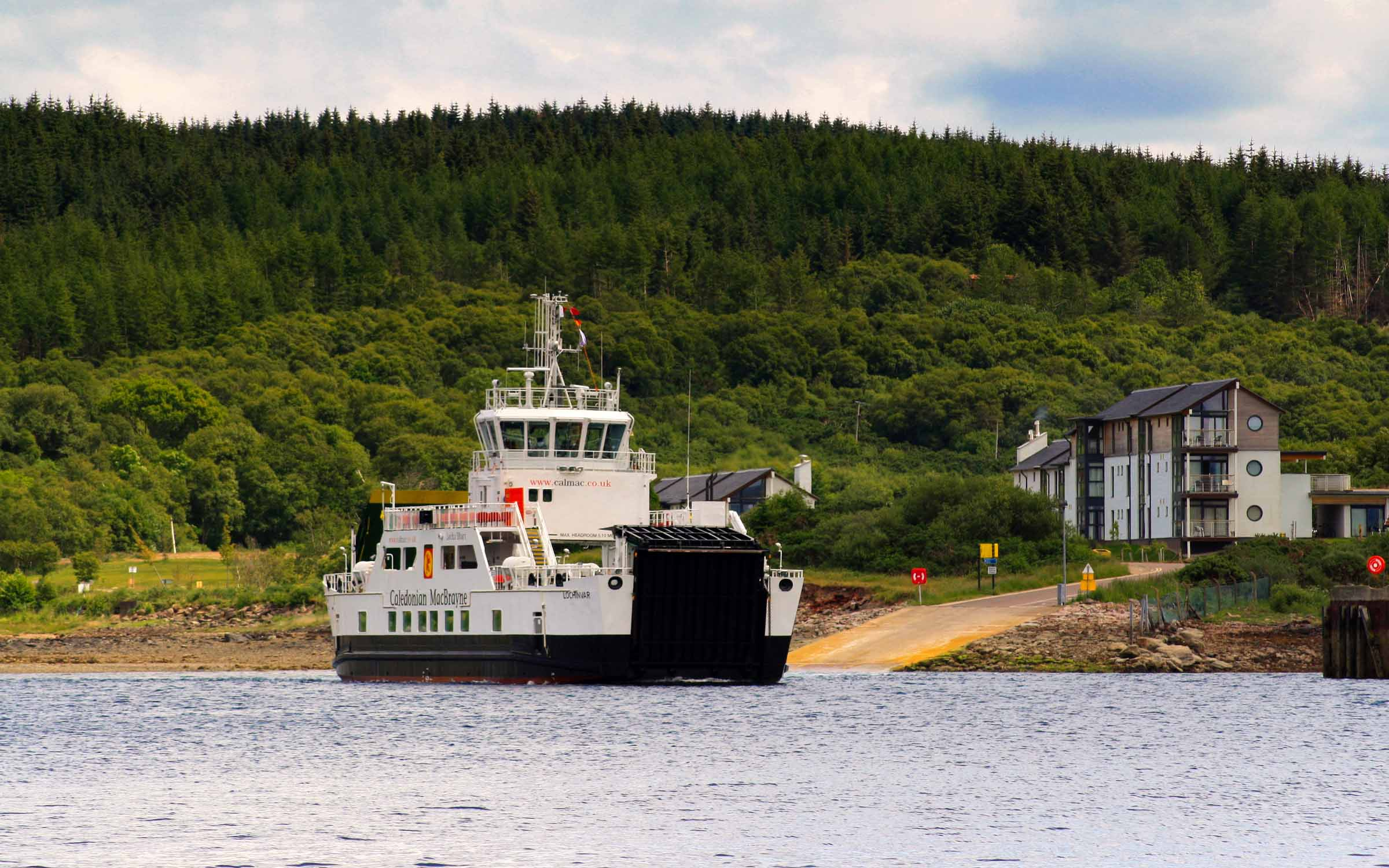 Lochinvar leaving Portavadie (Photo: SoC Crew)
