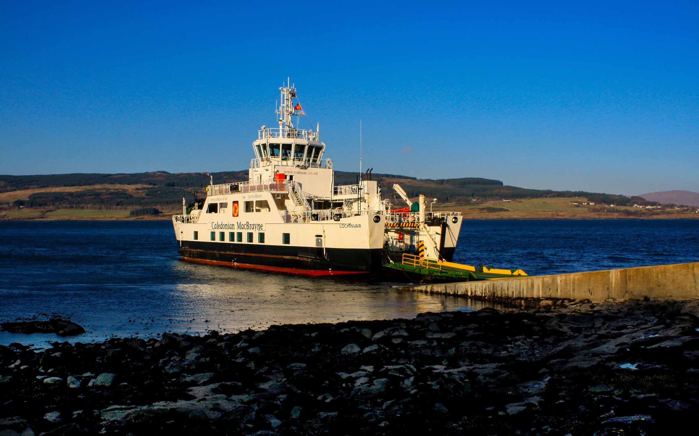 Lochinvar at Fishnish (Ships of CalMac)