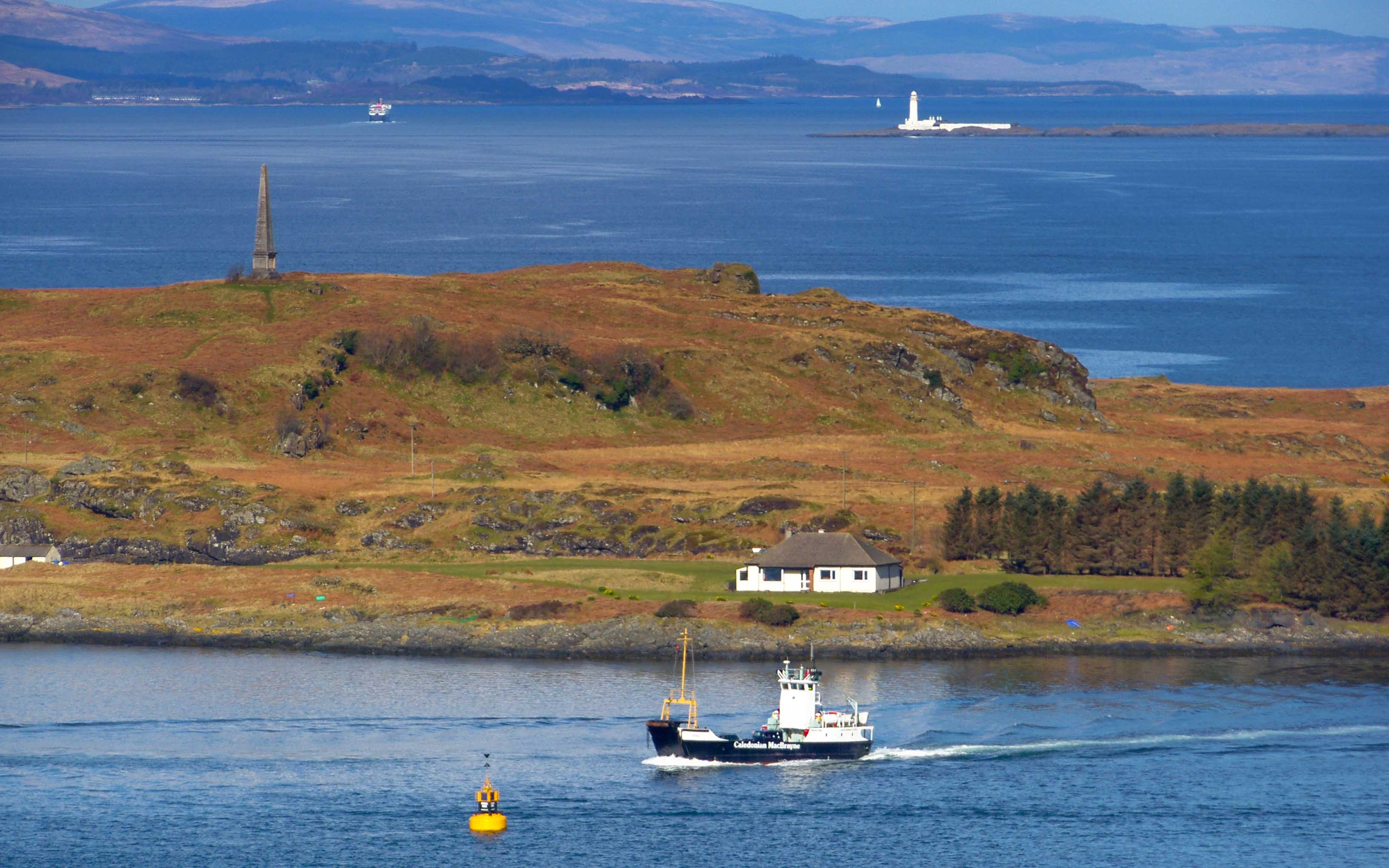 Eigg in Oban Bay (Ships of CalMac)