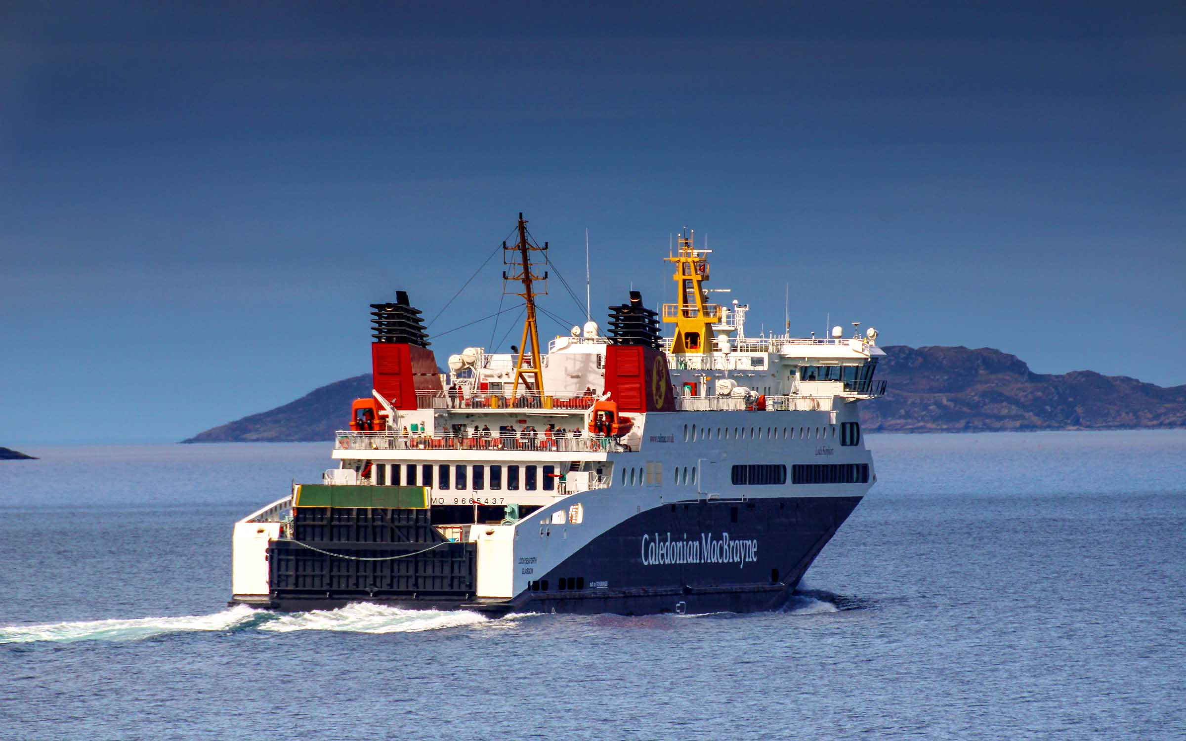 Loch Seaforth making for Stornoway (Photo: SoC Crew)