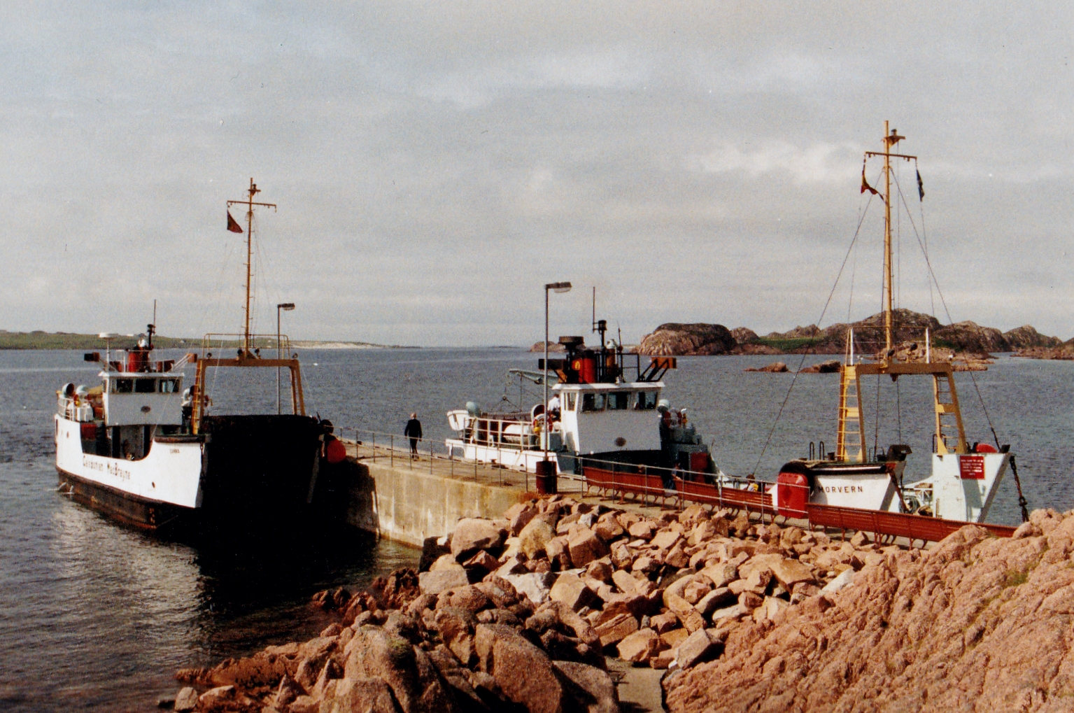 Canna and Morvern at Fionnphort (Jim Aikman Smith)