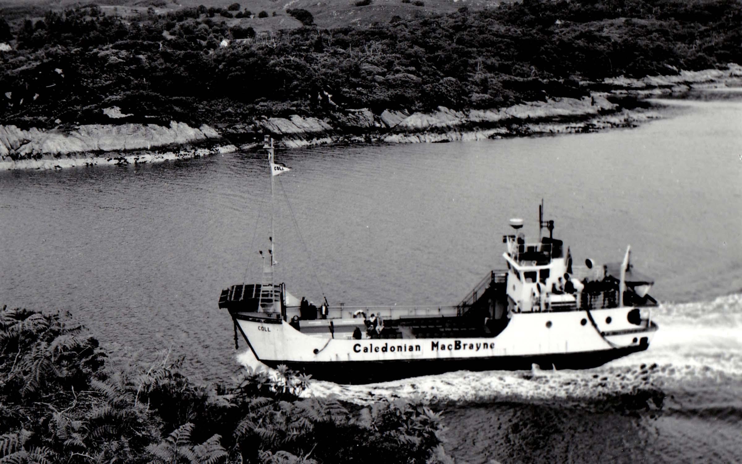 Coll on a cruise in Loch Sunart (Jim Aikman Smith)