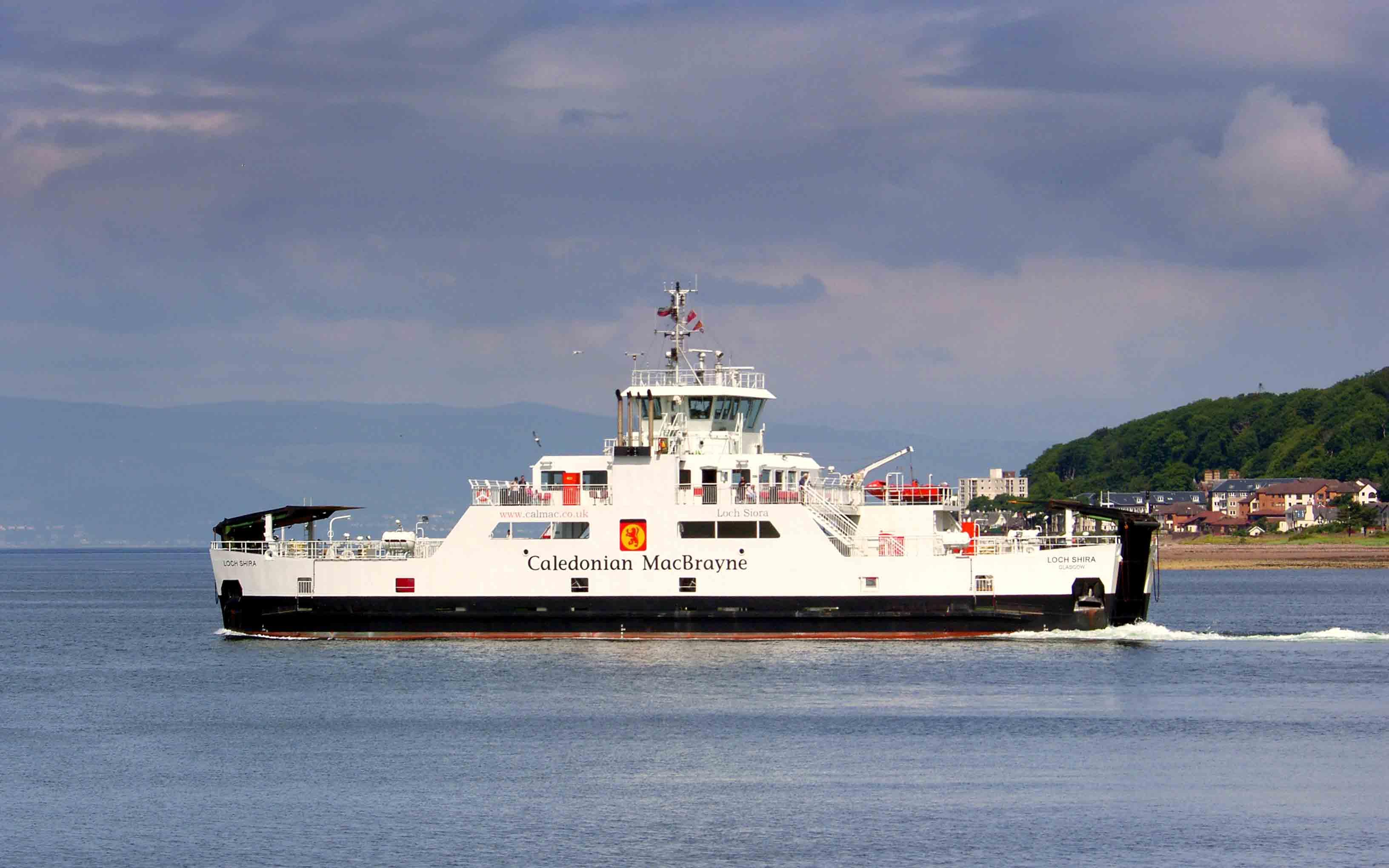 Loch Shira off Largs (Ships of CalMac)
