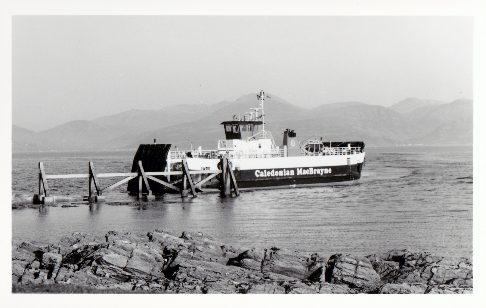 Loch Tarbert arriving at Claonaig (Jim Aikman Smith)