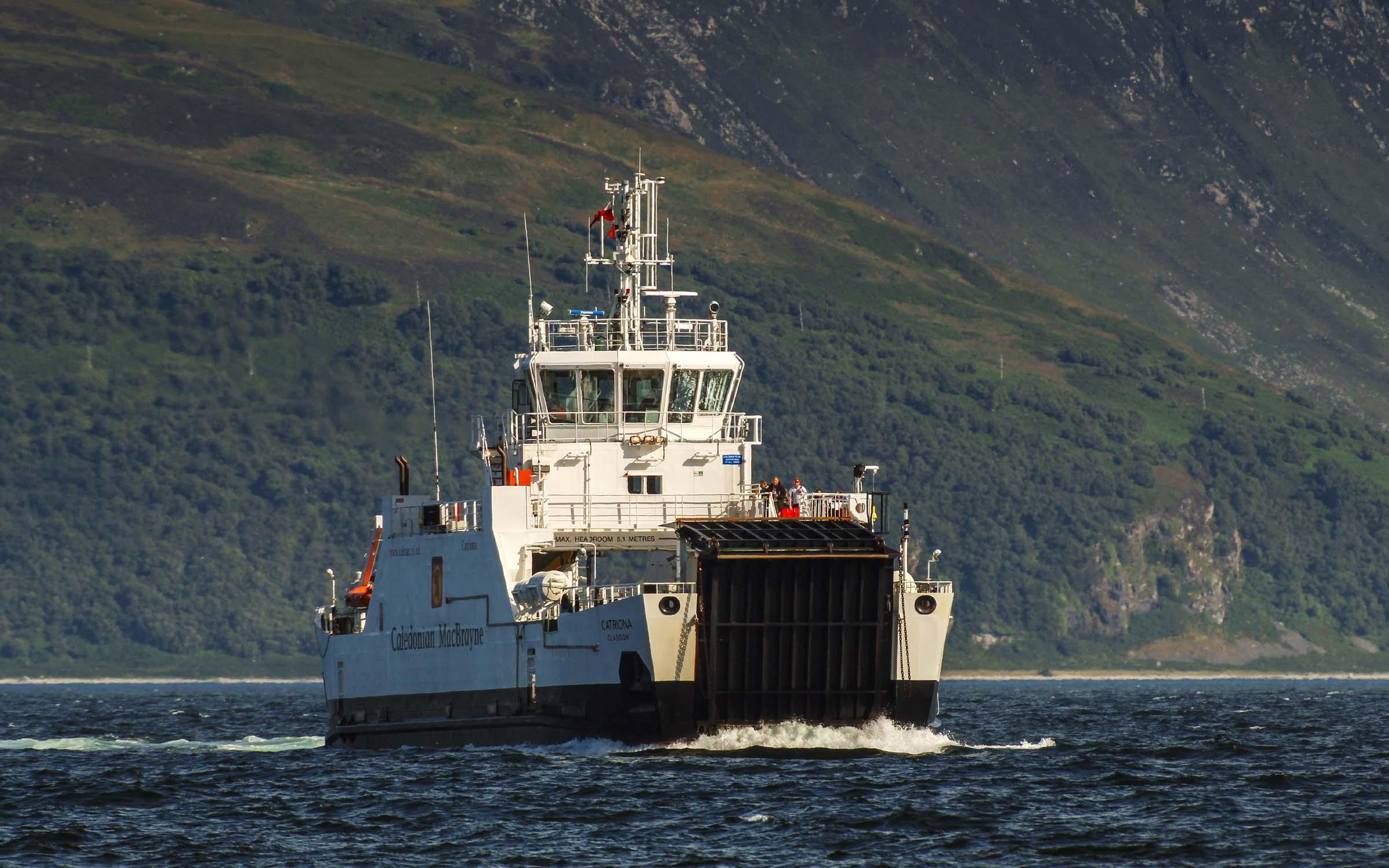 Catriona in the Kilbrannan Sound (Ships of CalMac)