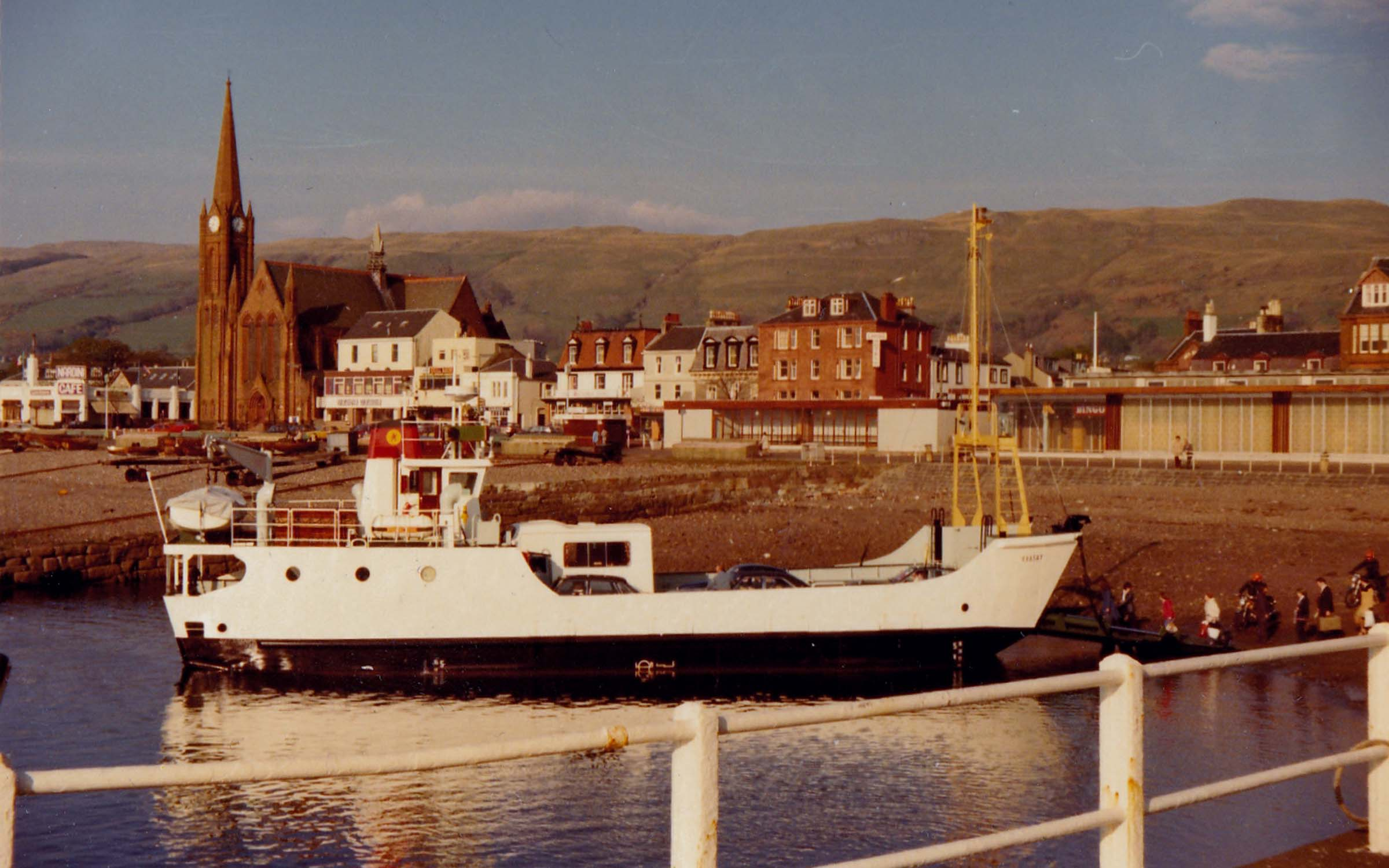 Raasay's first day in service (Jim Aikman Smith)