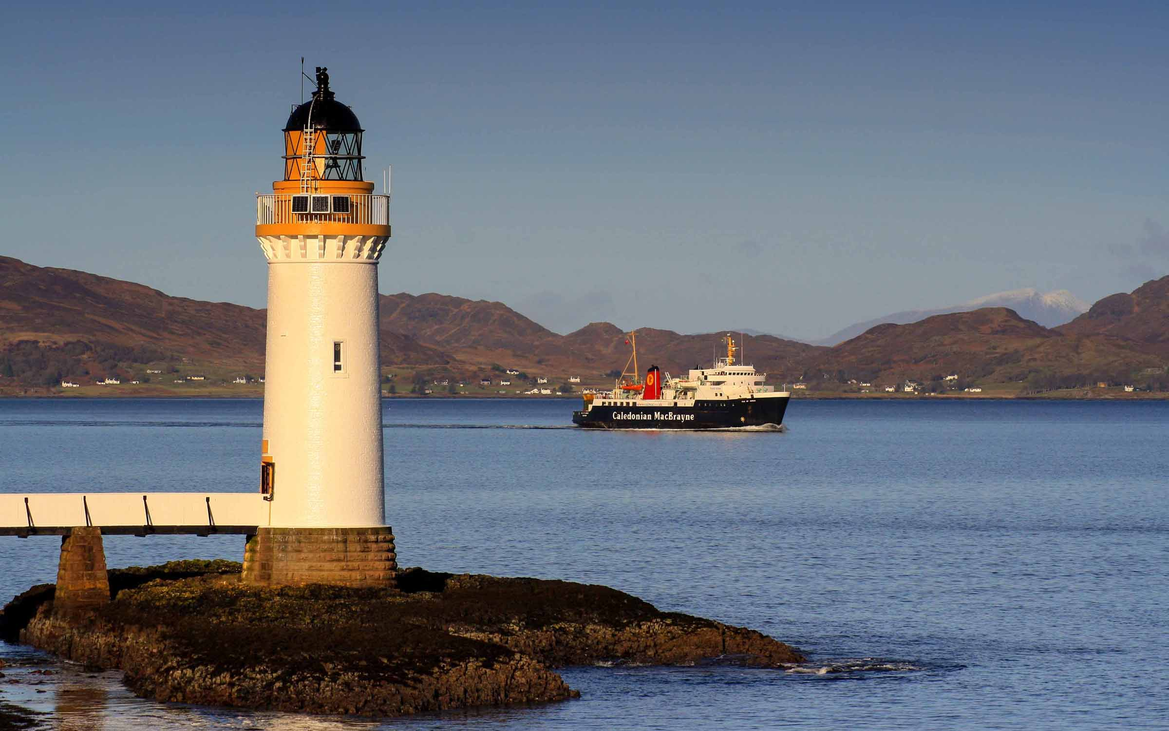 Isle of Arran inbound from Barra (Ships of CalMac)