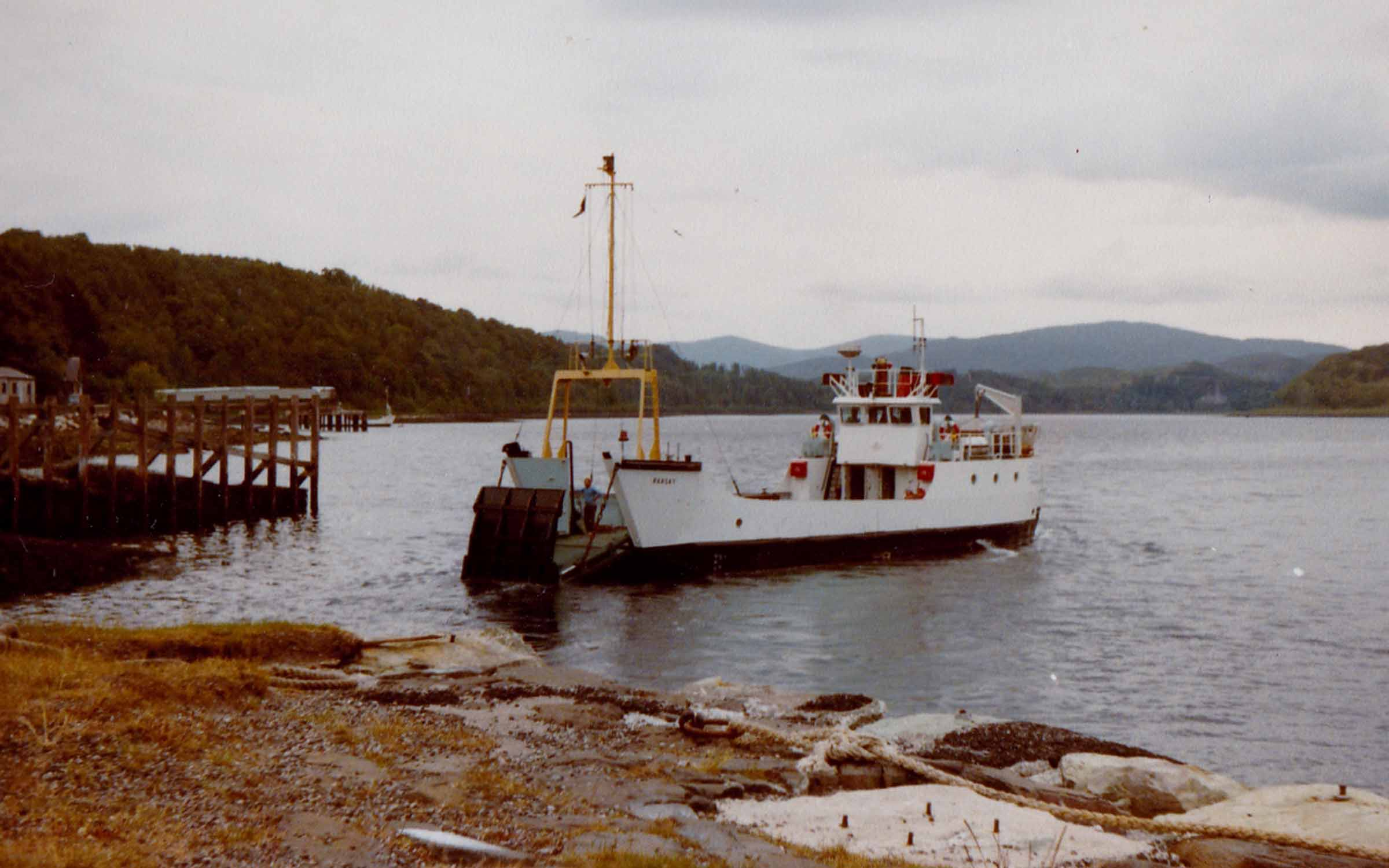 Raasay at Lochaline (Jim Aikman Smith)
