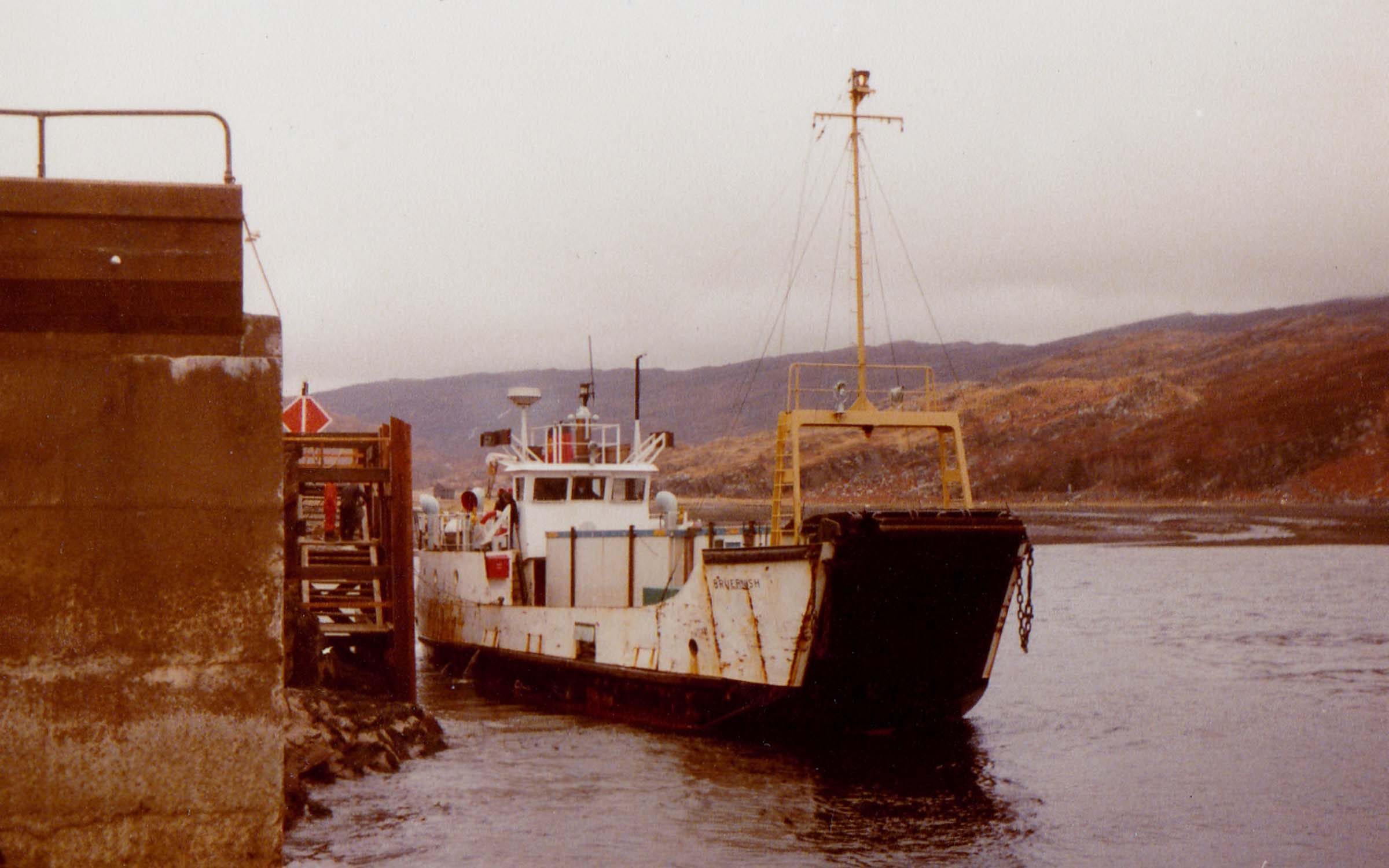 Bruernish at Toscaig pier (Jim Aikman Smith)