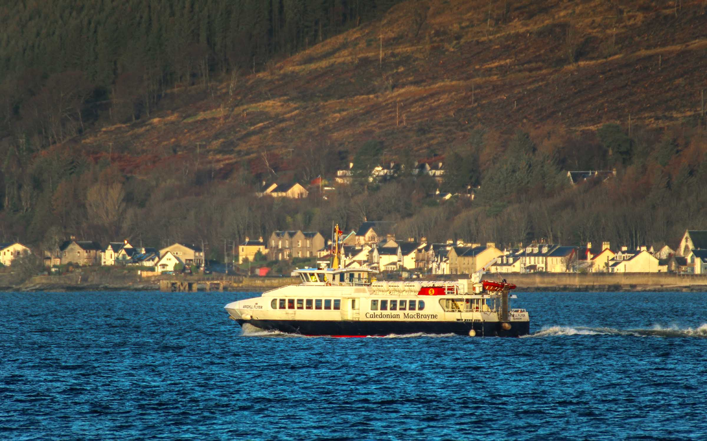 Heading for Dunoon
