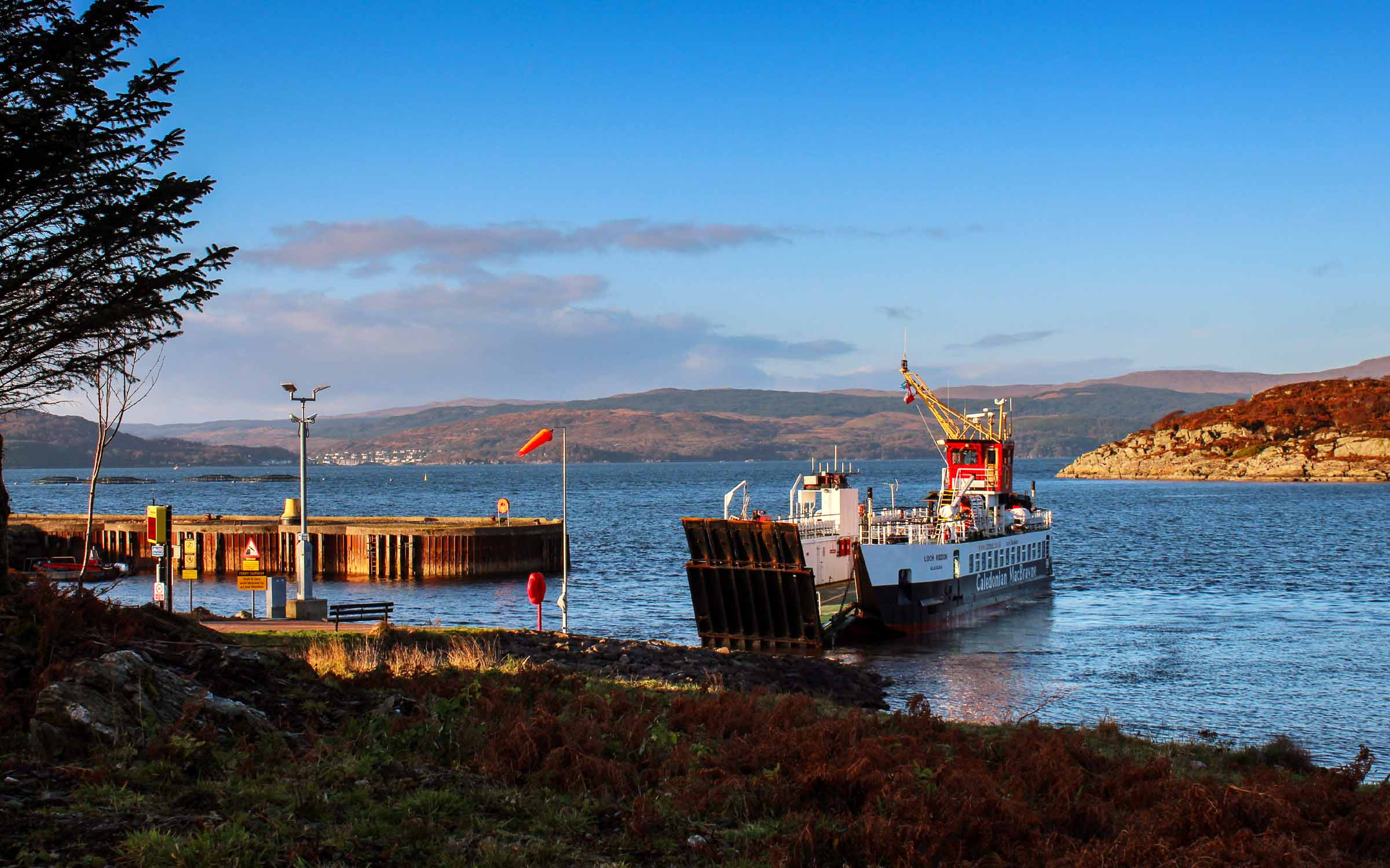 Loch Riddon at Portavadie (Ships of CalMac)