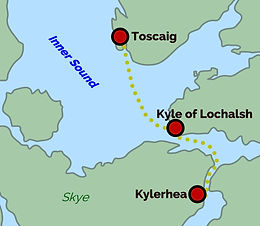 Kyle – Toscaig / Kylerhea