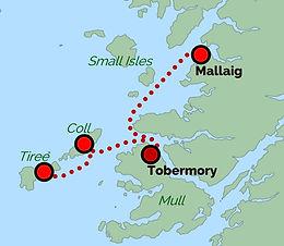 Mallaig - Tobermory - Coll - Tiree