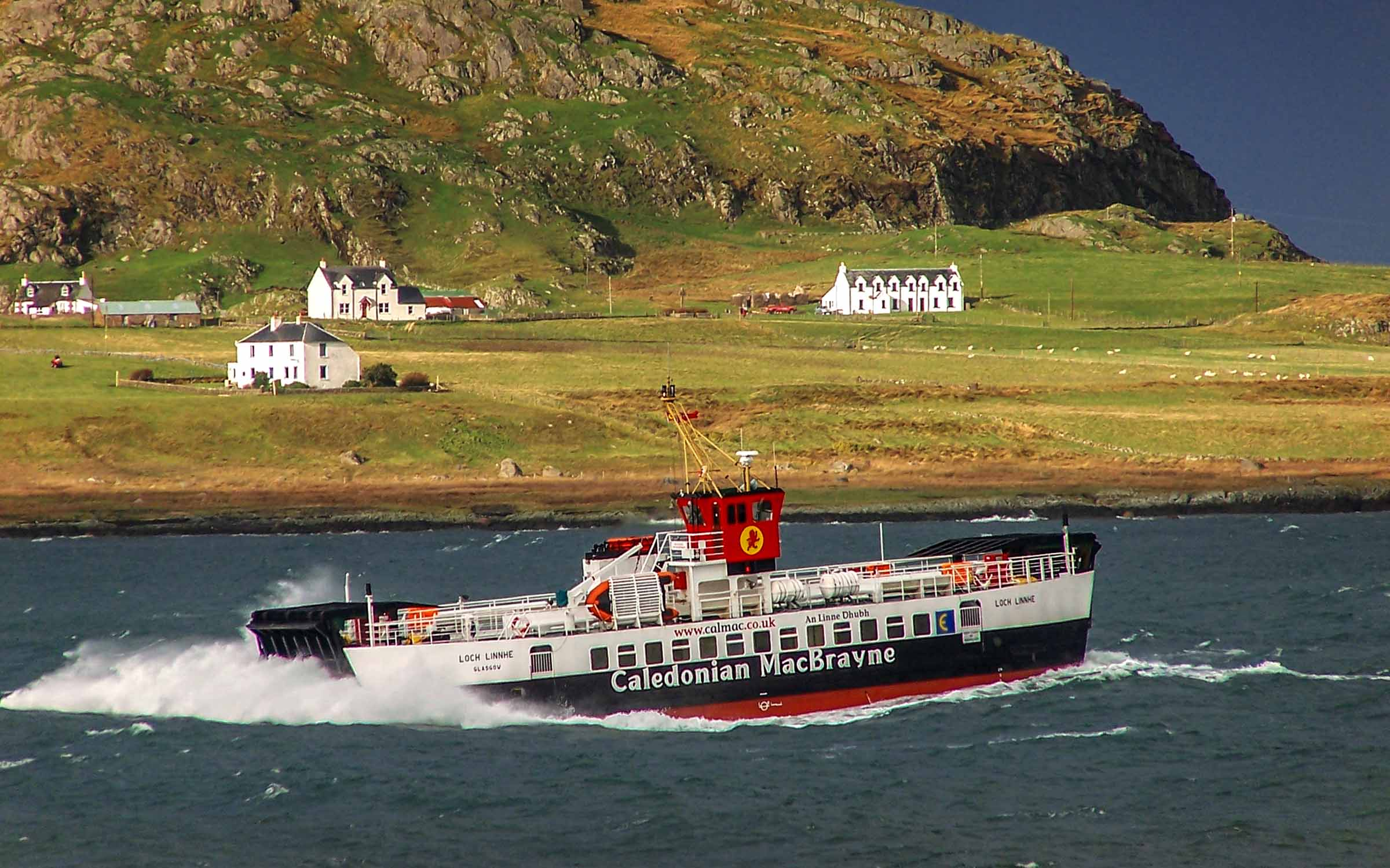 Loch Linnhe in the Sound of Iona (Ships of CalMac)