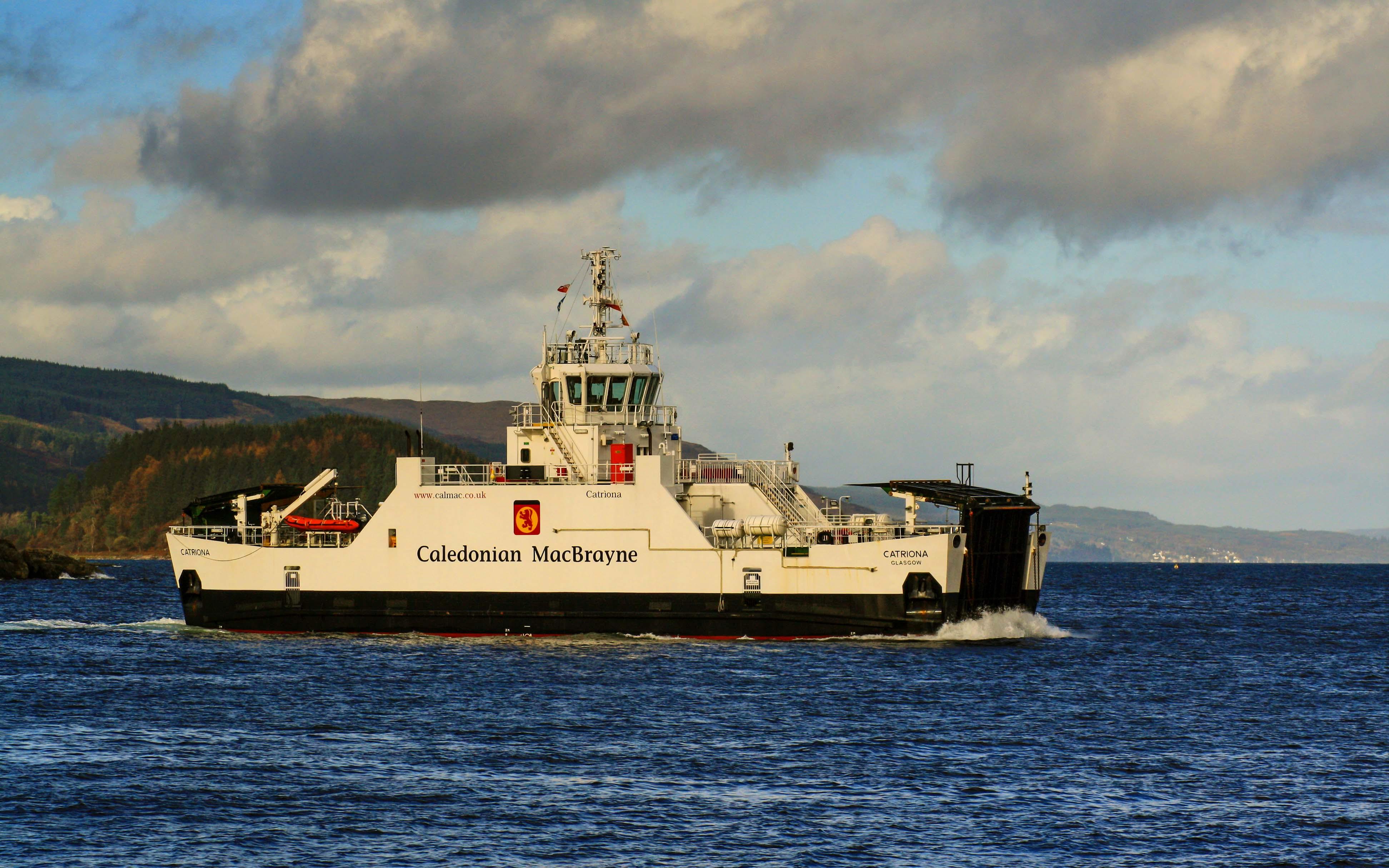 Catriona leaving Tarbert (Photo: SoC Crew)