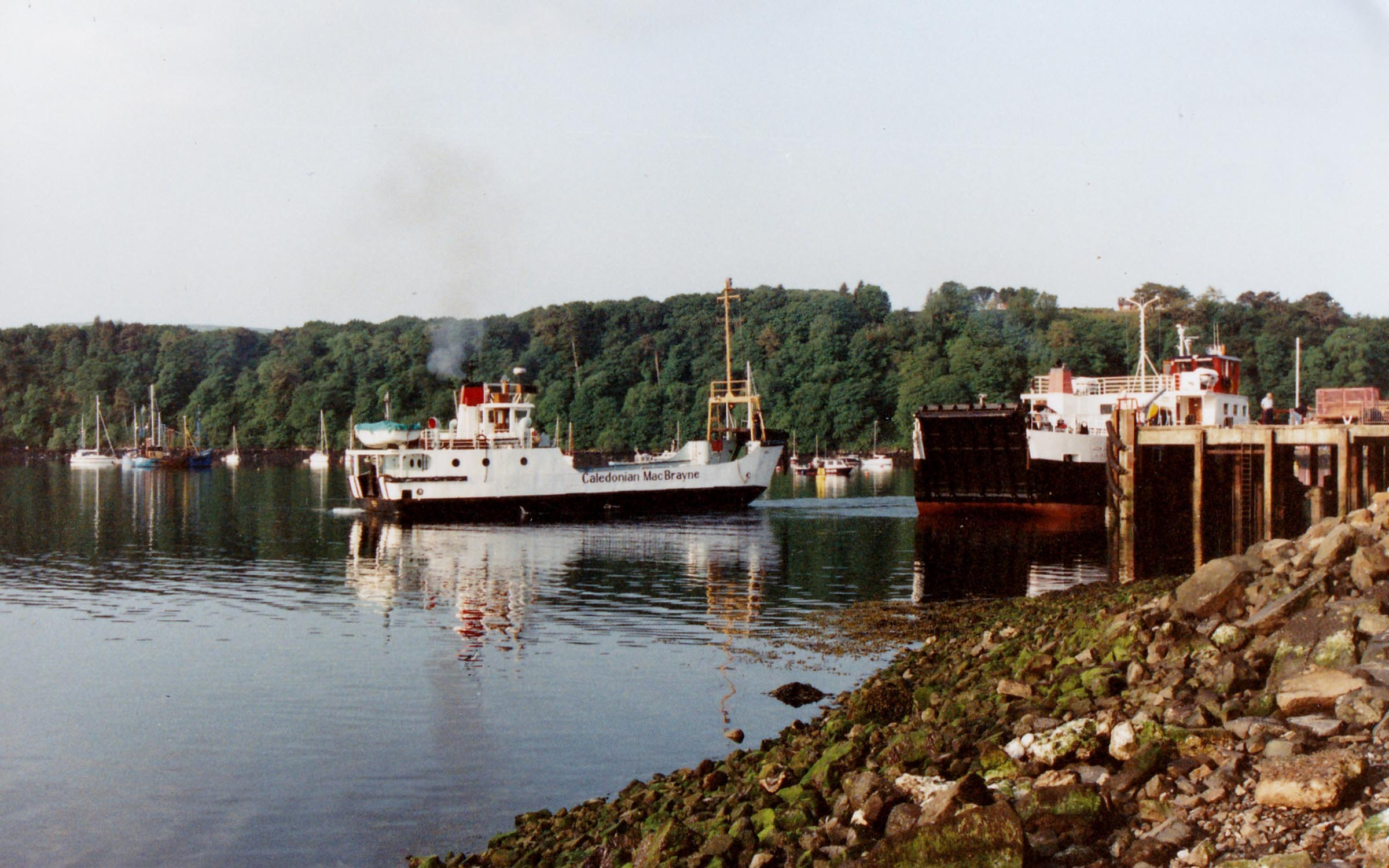 Coll and Loch Buie at Tobermory (Jim Aikman Smith)